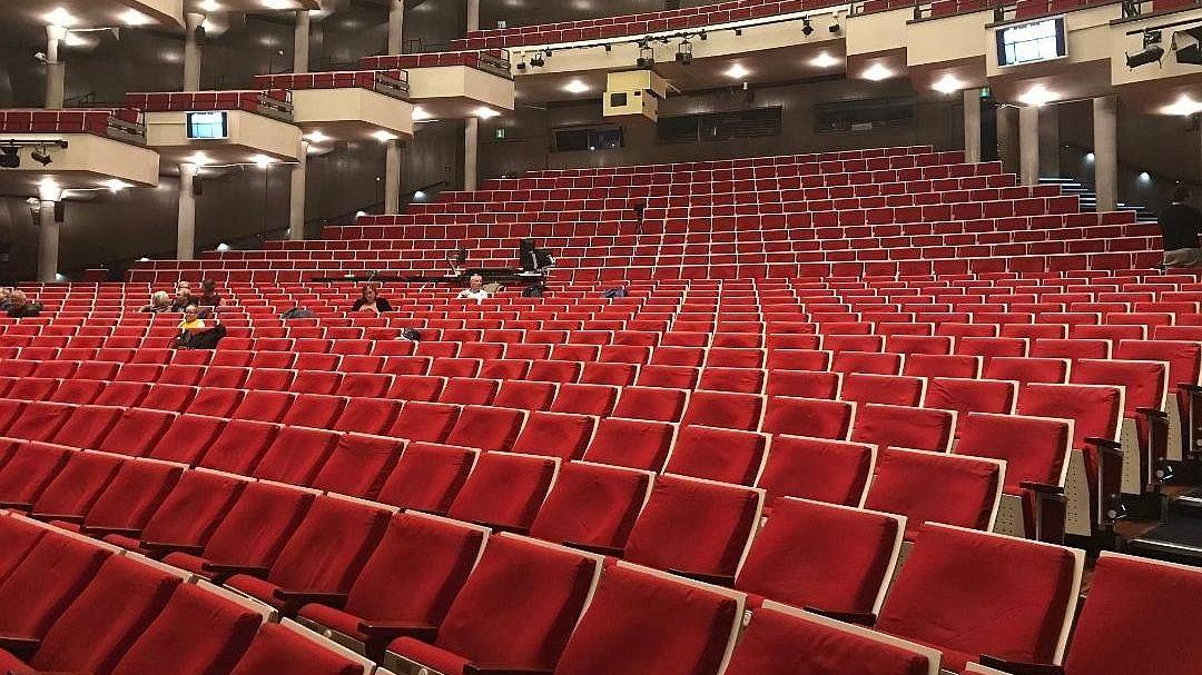 Premiere ohne Zuschauer