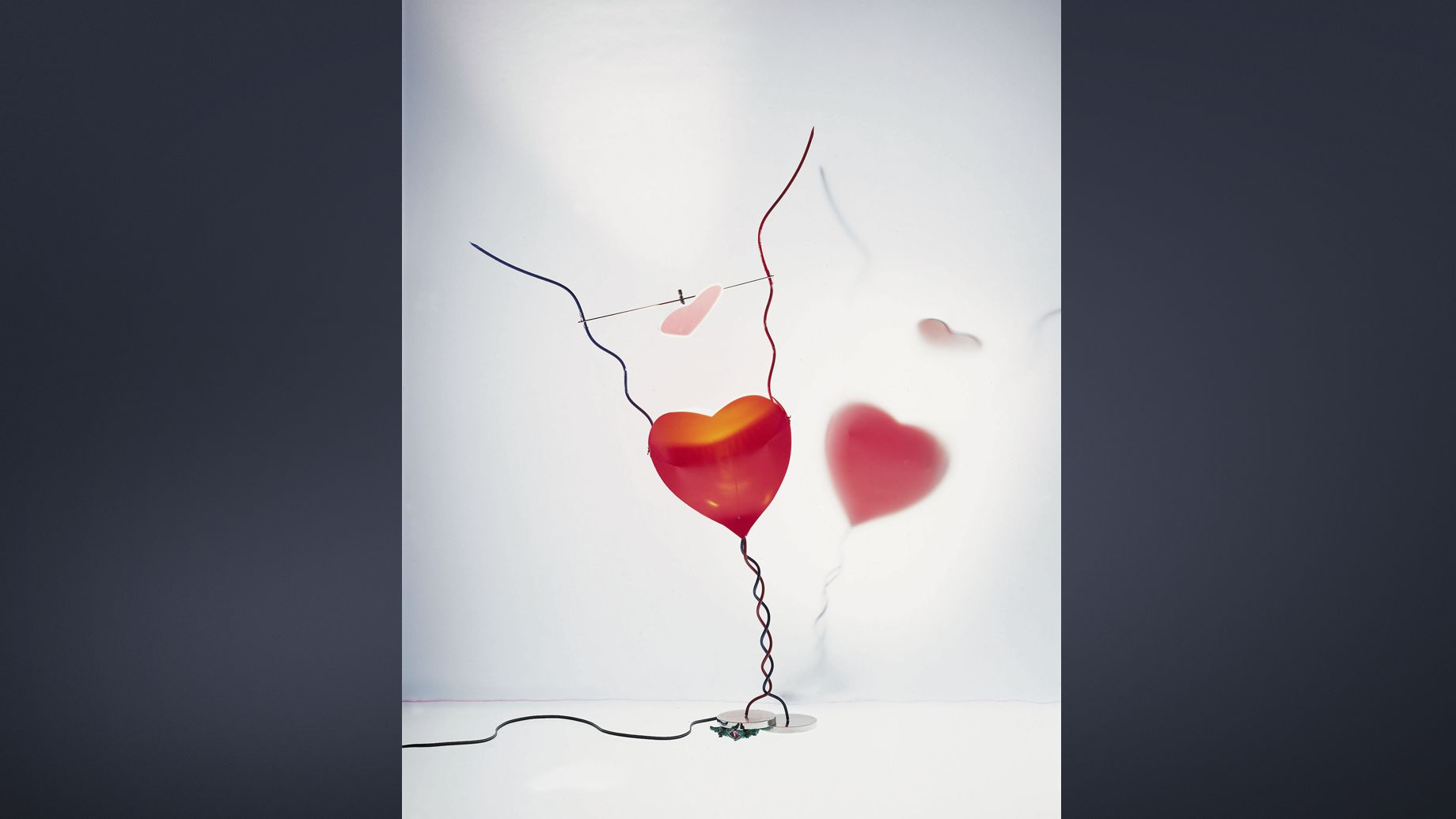 Ingo Maurer, One from the Heart, 1989