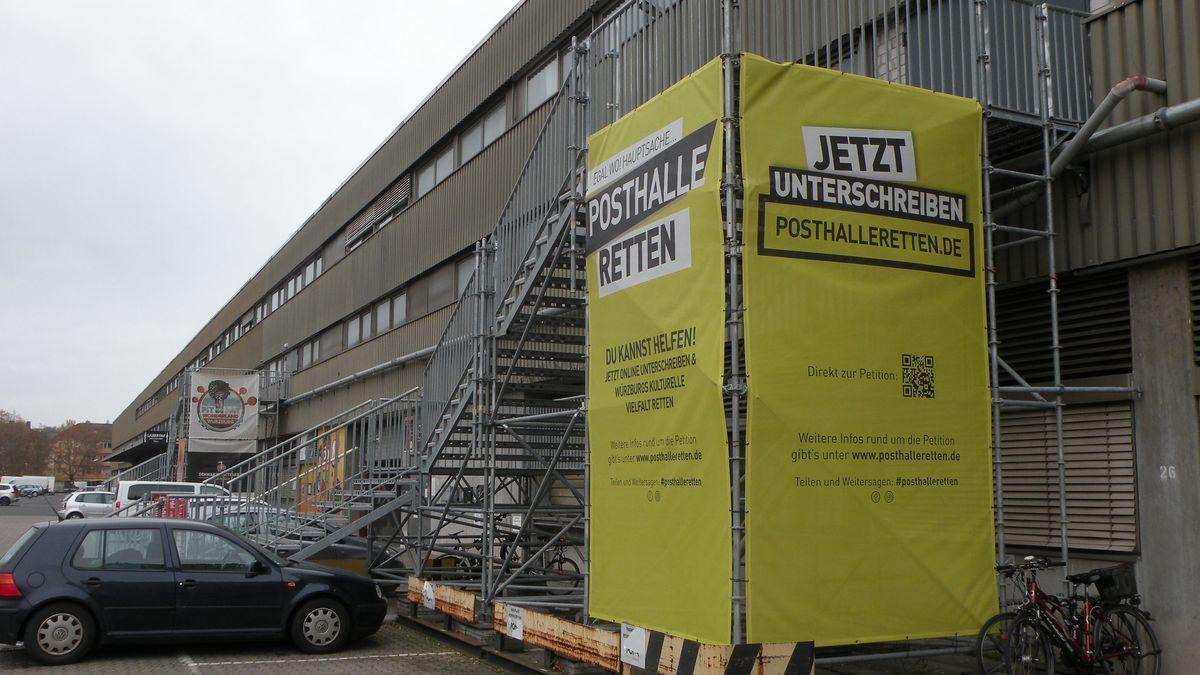 Die Posthalle in Würzburg
