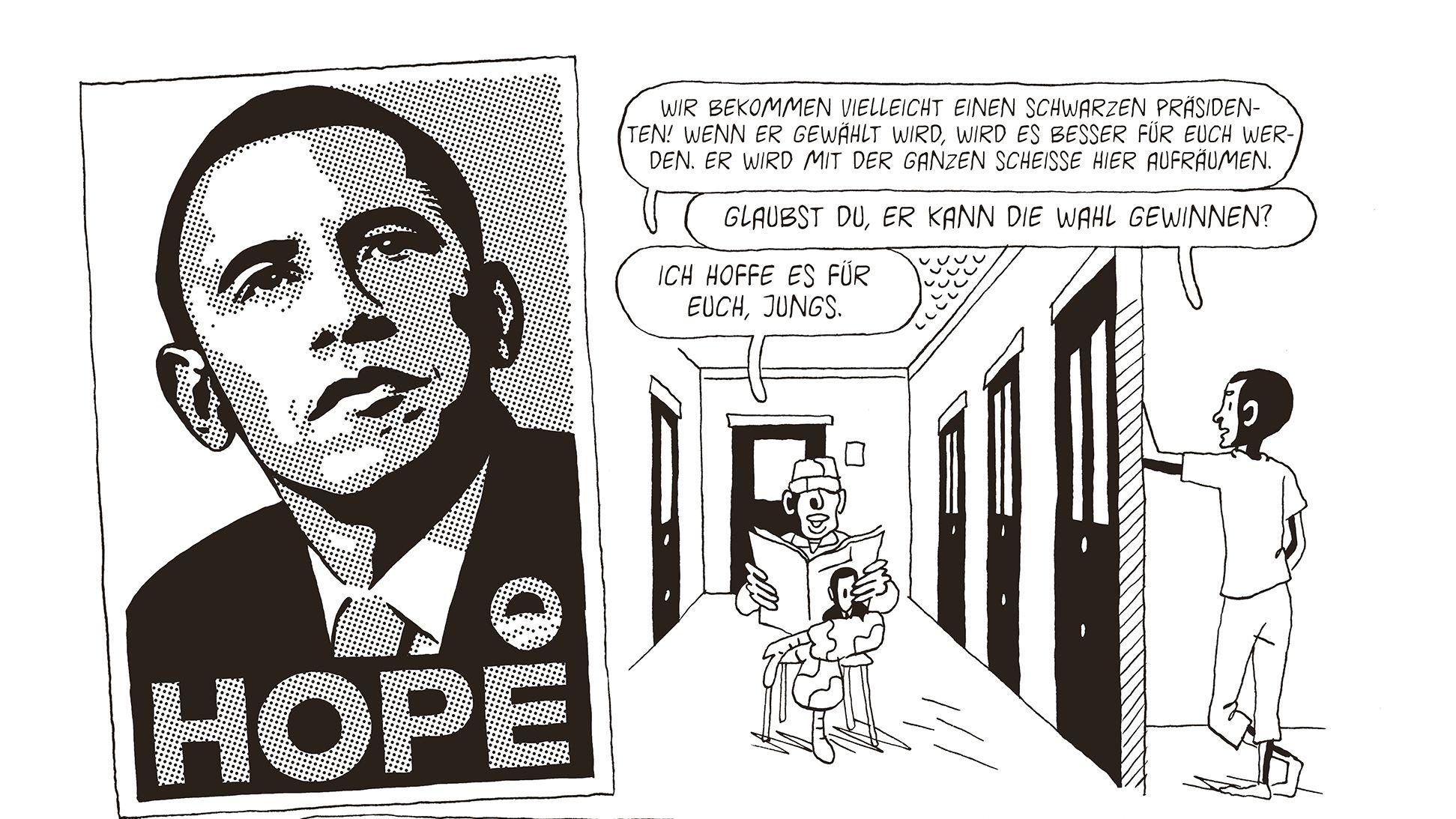 Auch nach der Wahl Obamas änderte sich für Mohammed nichts