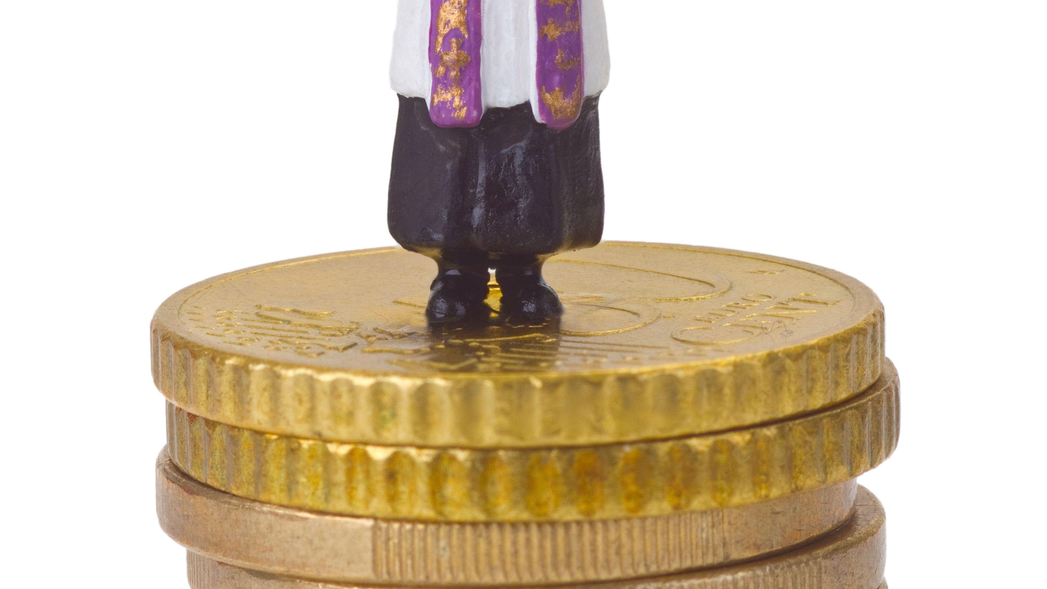 Symbolbild: Kirche und Geld