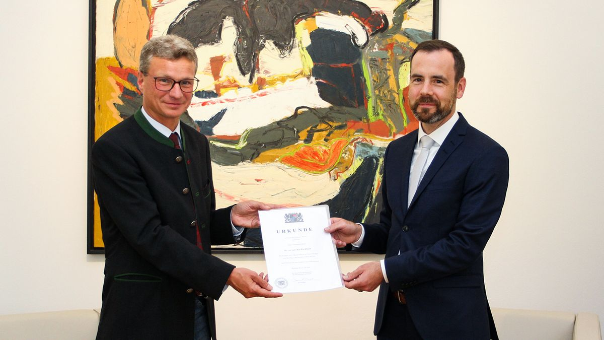 Bernd Sibler und Kai Fischbach.
