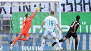 Das 1:0 von Fürth im Spiel gegen Karlsruhe