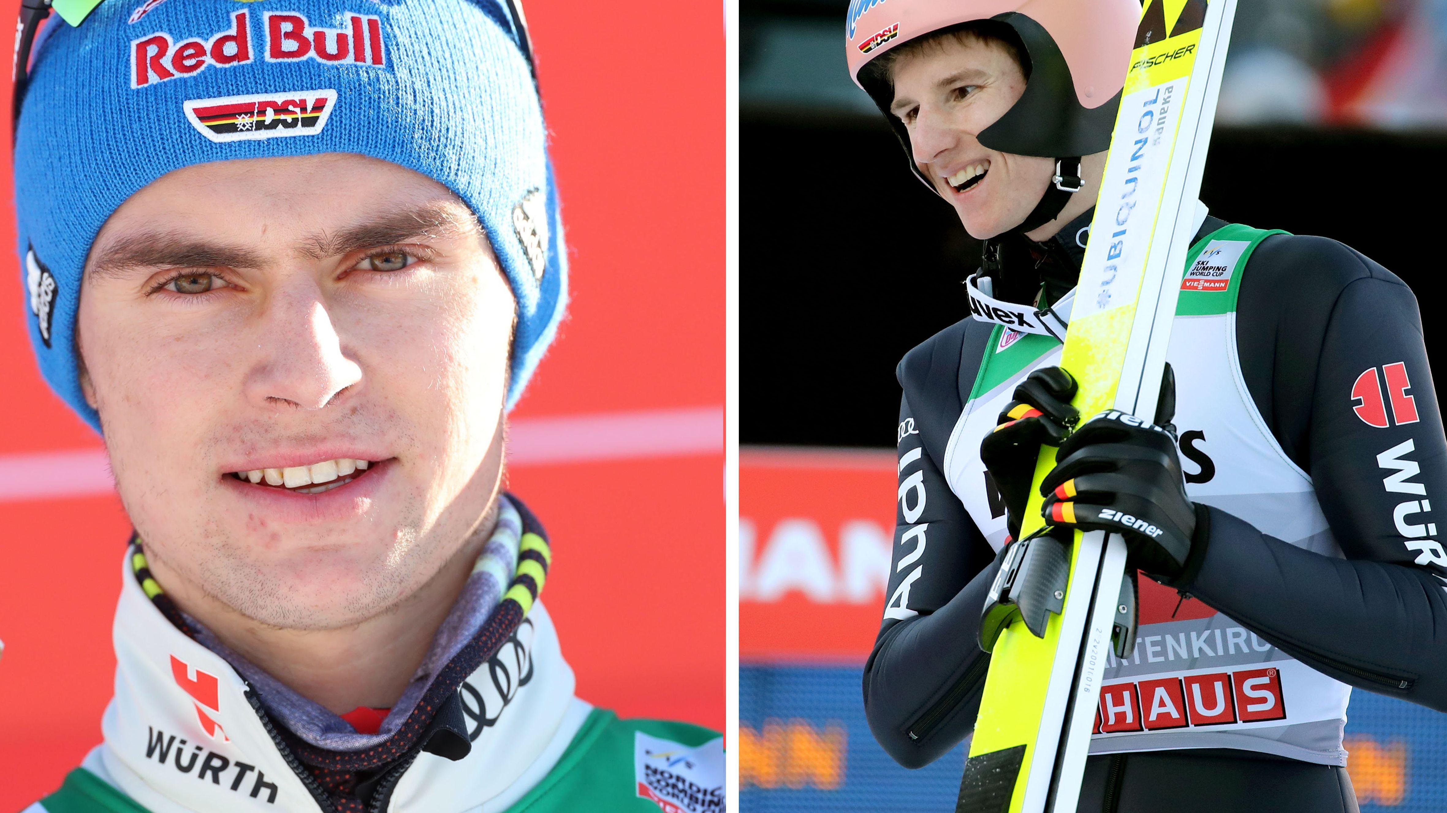 Vinzenz (li.) und Karl Geiger (re.)
