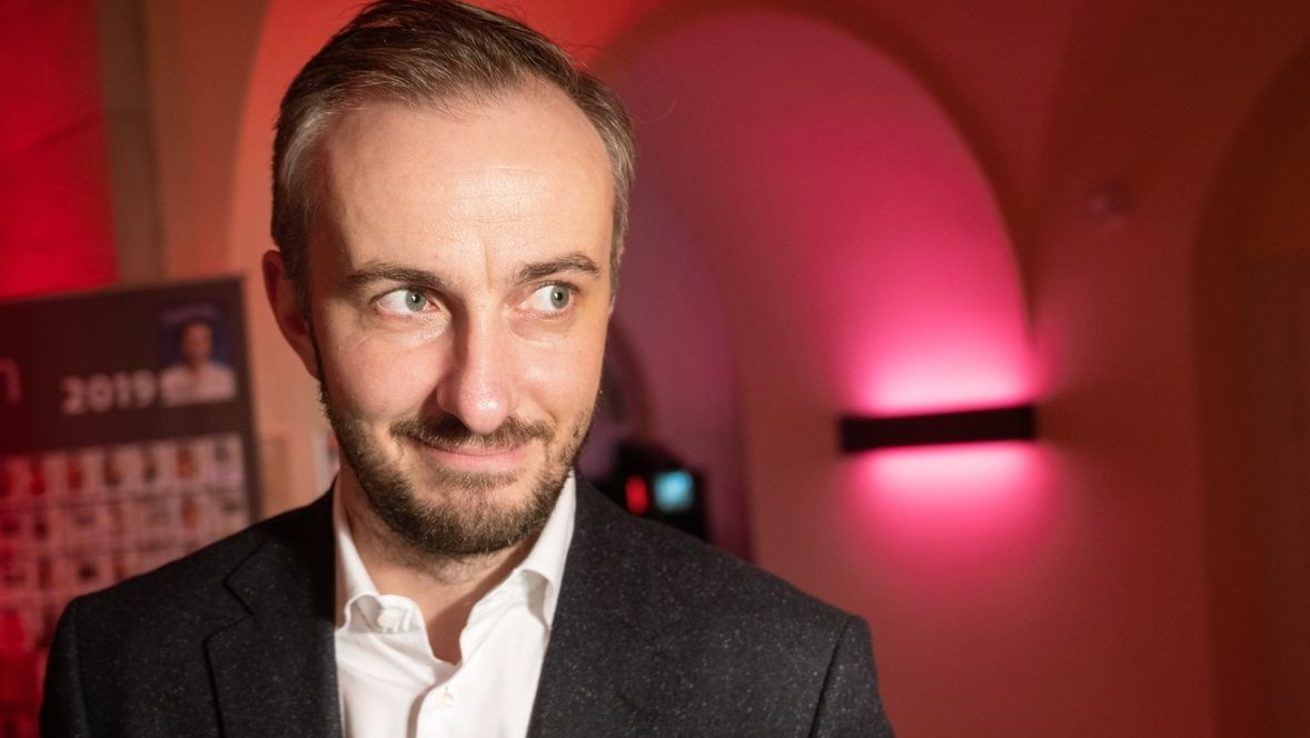 ZDF-Moderator Jan Böhmermann