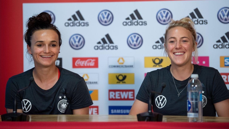 Frauenfußball-WM - Pressekonferenz