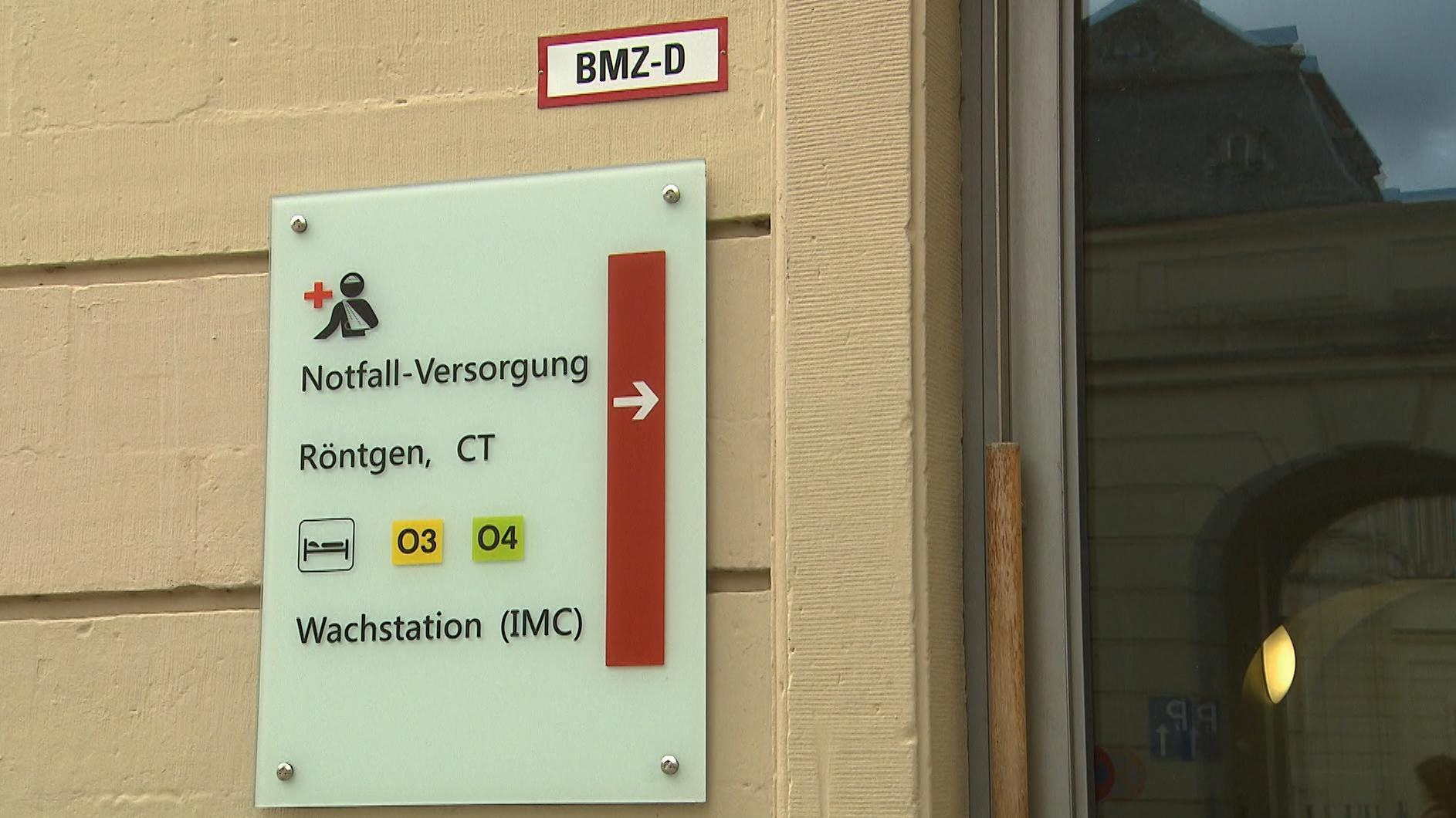 Notfall-Versorgung in der Klinik Schloss Werneck