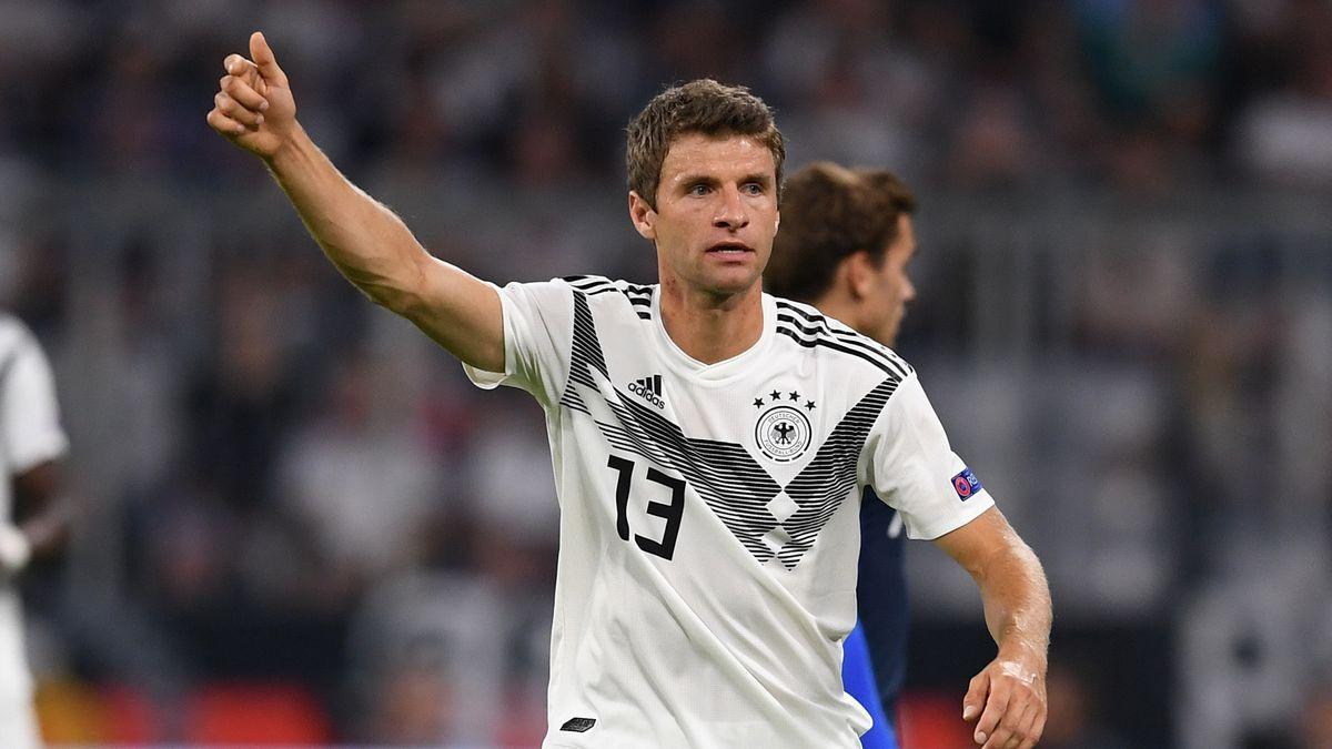 Thomas Müller im DFB-Trikot