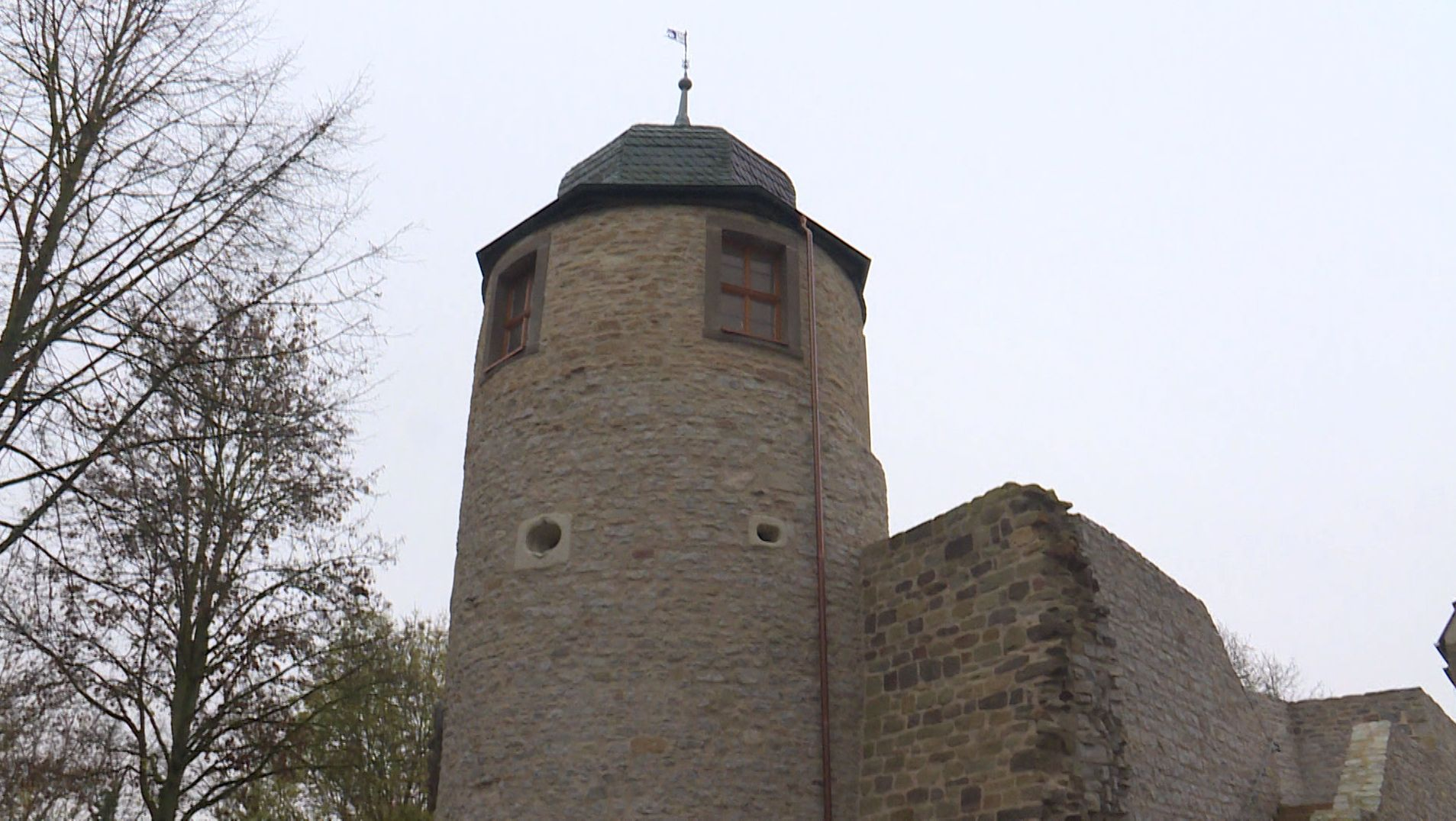 Der Samtturm in Schweinfurt