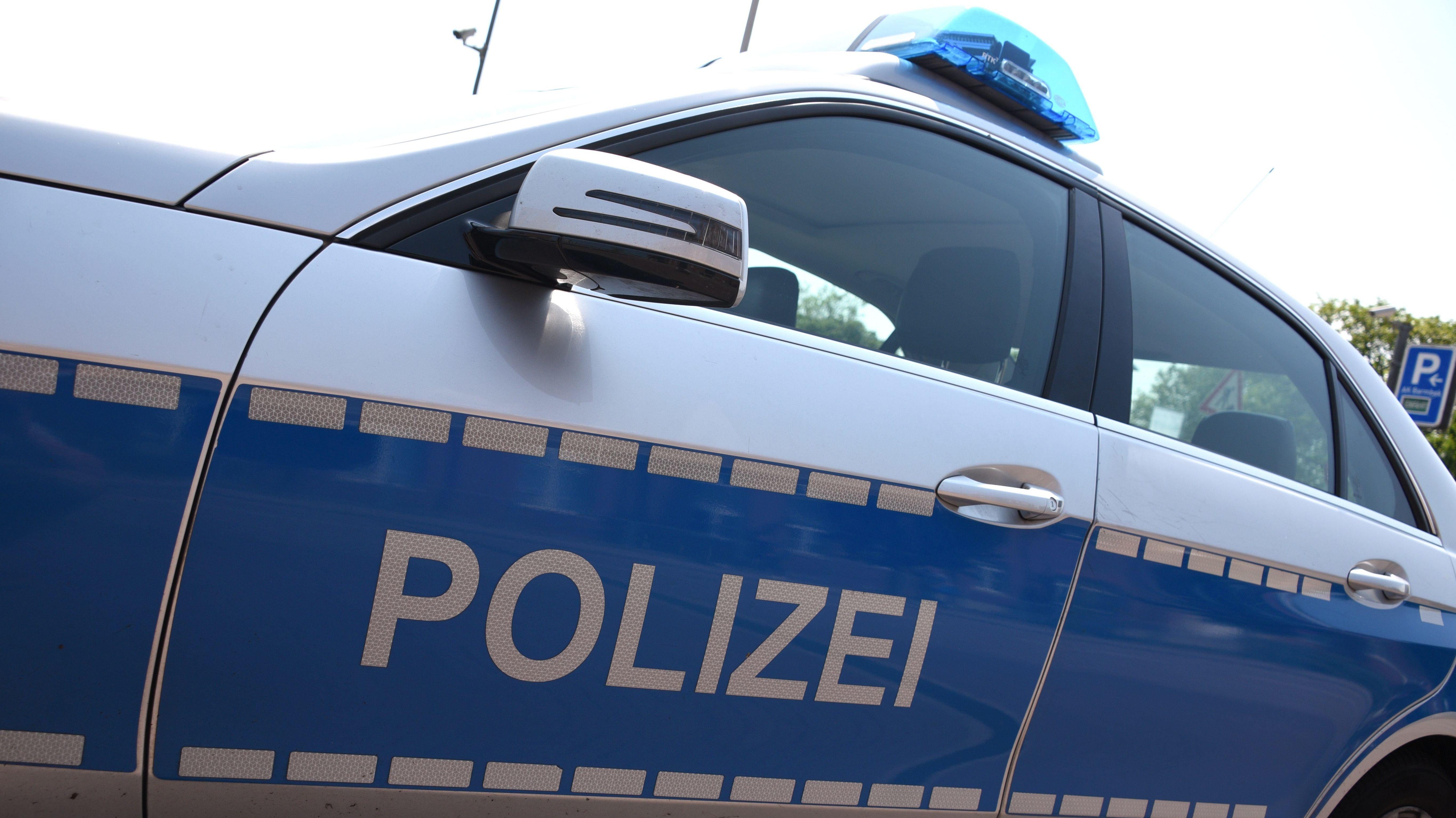 Einsatzwagen der Polizei, Symbolbild