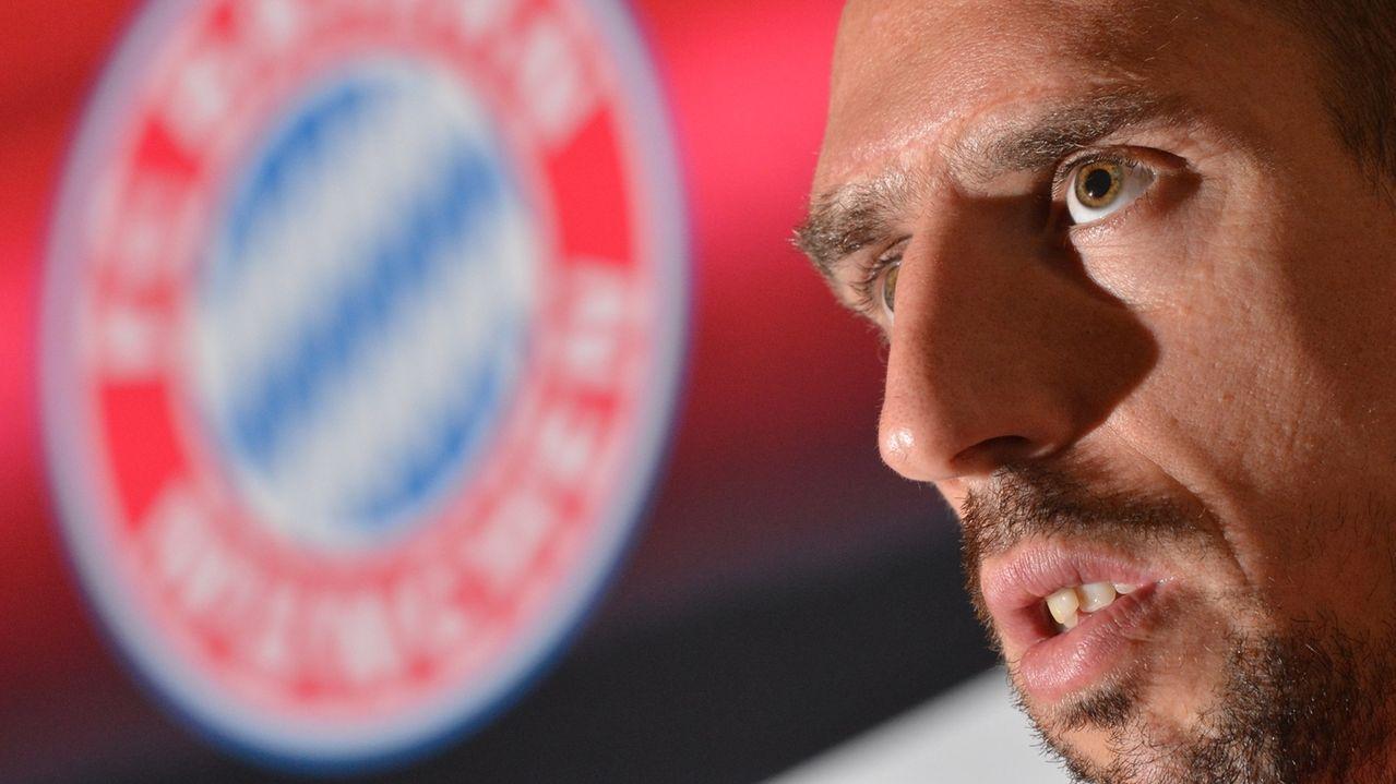 Ribery verspricht:Ich komme nach München zurück.