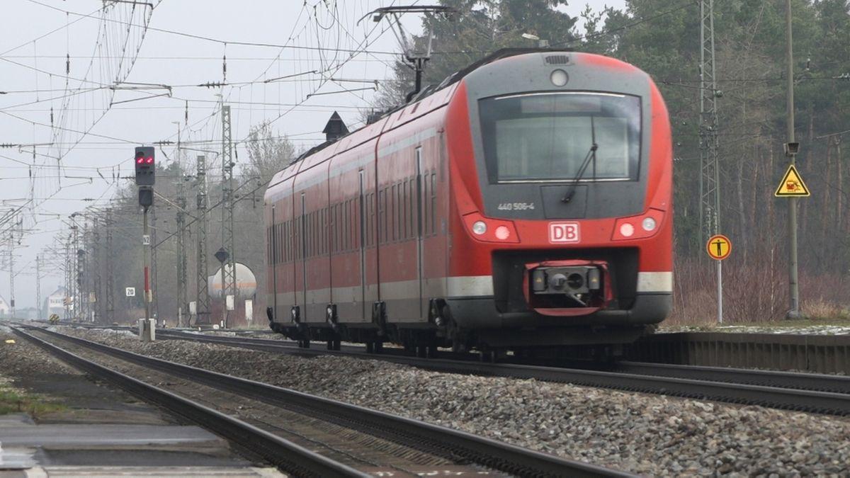 Regionalexpress in Schwaben