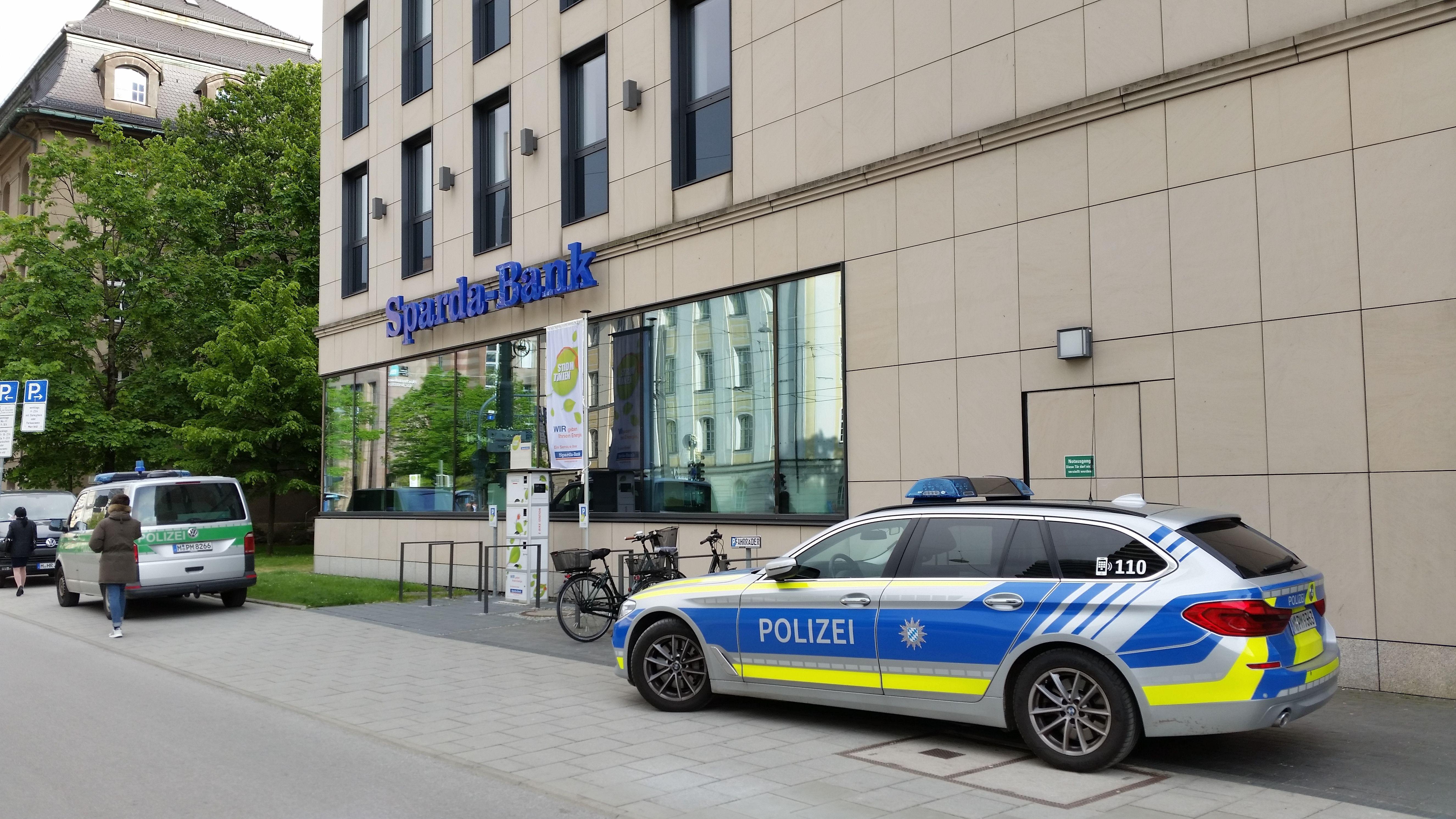 Sparda-Bank in der Münchner Innenstadt