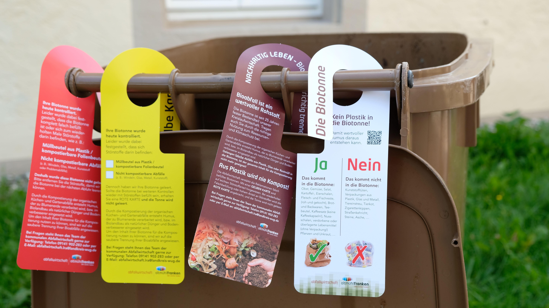 Info-Kampagne Biomüll