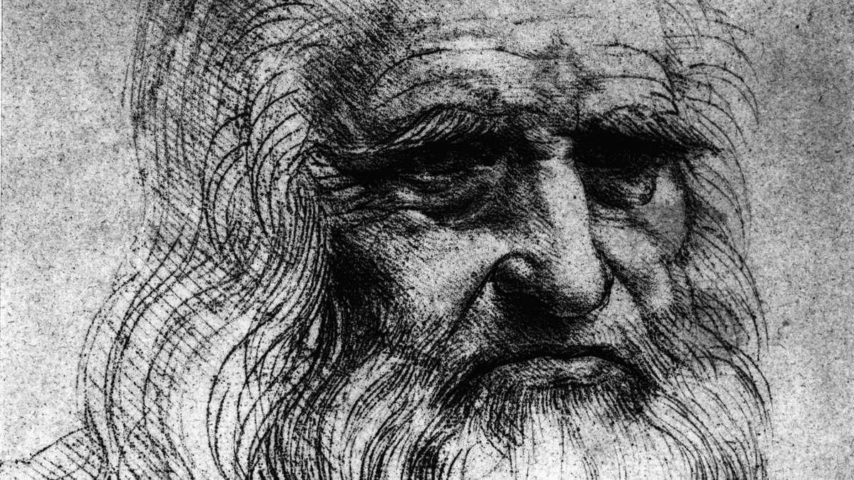 Selbstbildnis Turin Leonardo da Vinci