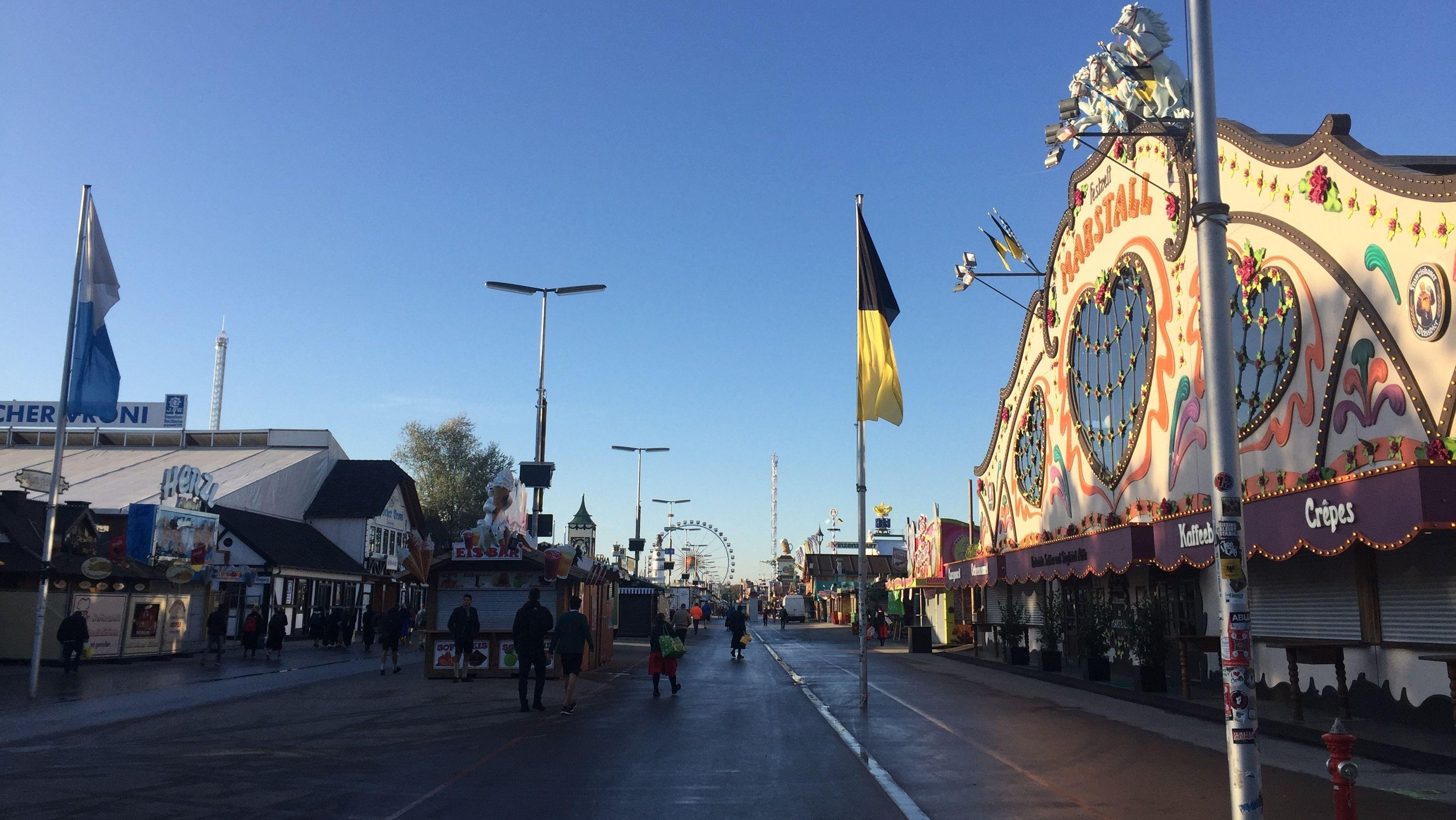 Festzelte auf dem Oktoberfest 2019