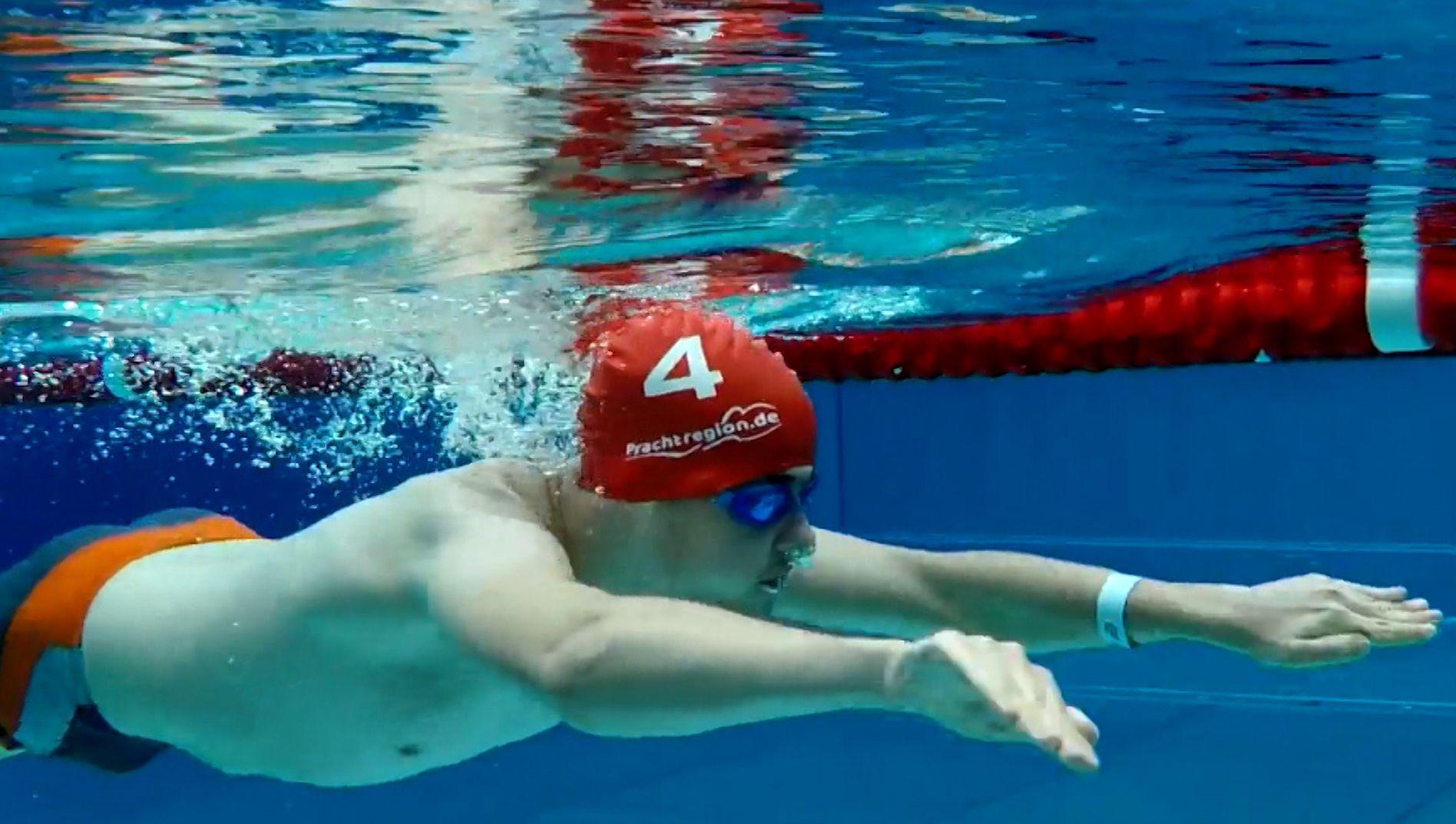 Inklusions-Schwimmweltrekord in Altdorf