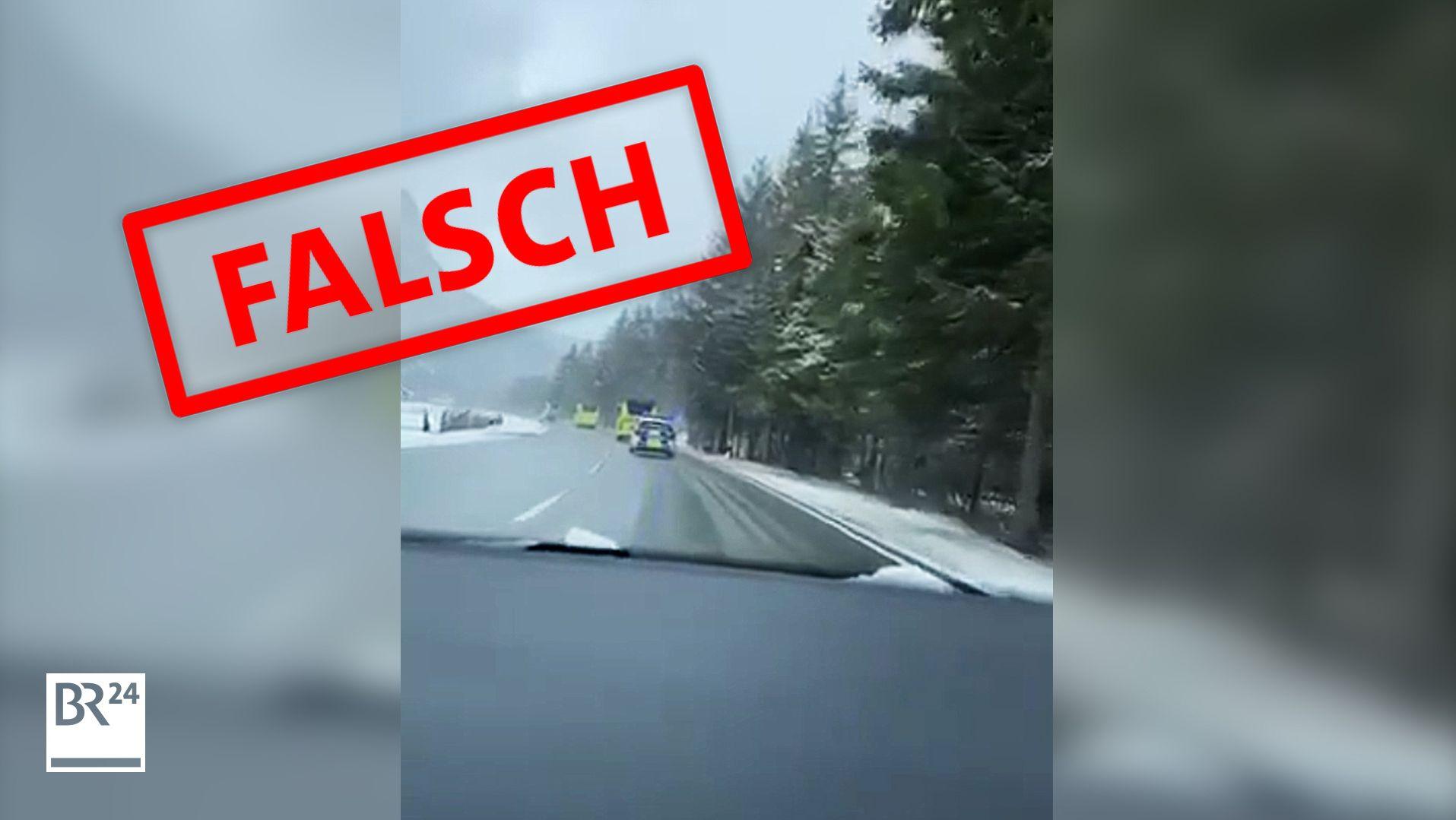 Am Montag wurden deutsche Saisonarbeiter aus Tirol in Bussen zurück nach Deutschland gebracht. In einem Video wird etwas anderes behauptet.