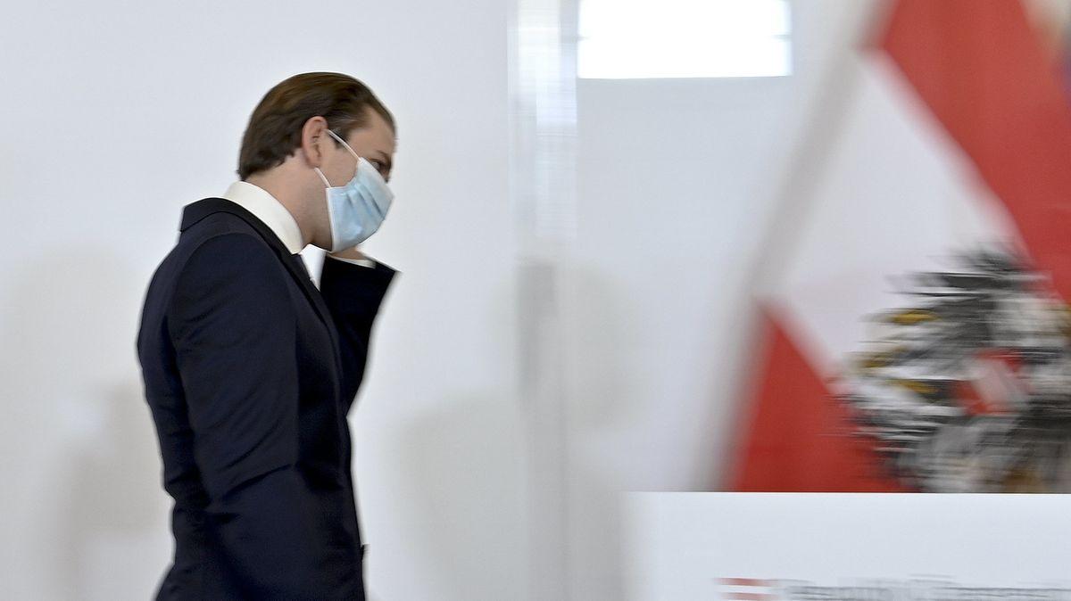Sebastian Kurz (ÖVP), Kanzler von Österreich, Ende September nach einem Pressestatement