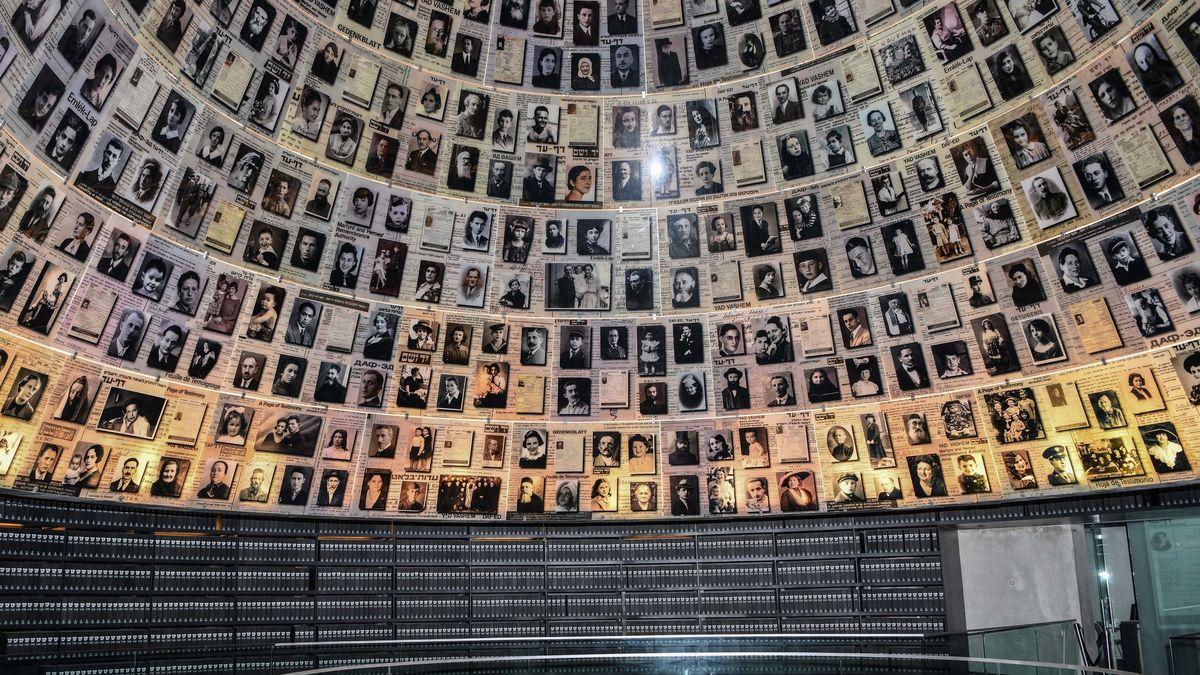Die Namenshalle der Holocaust-Gedenkstätte Yad Vashem.