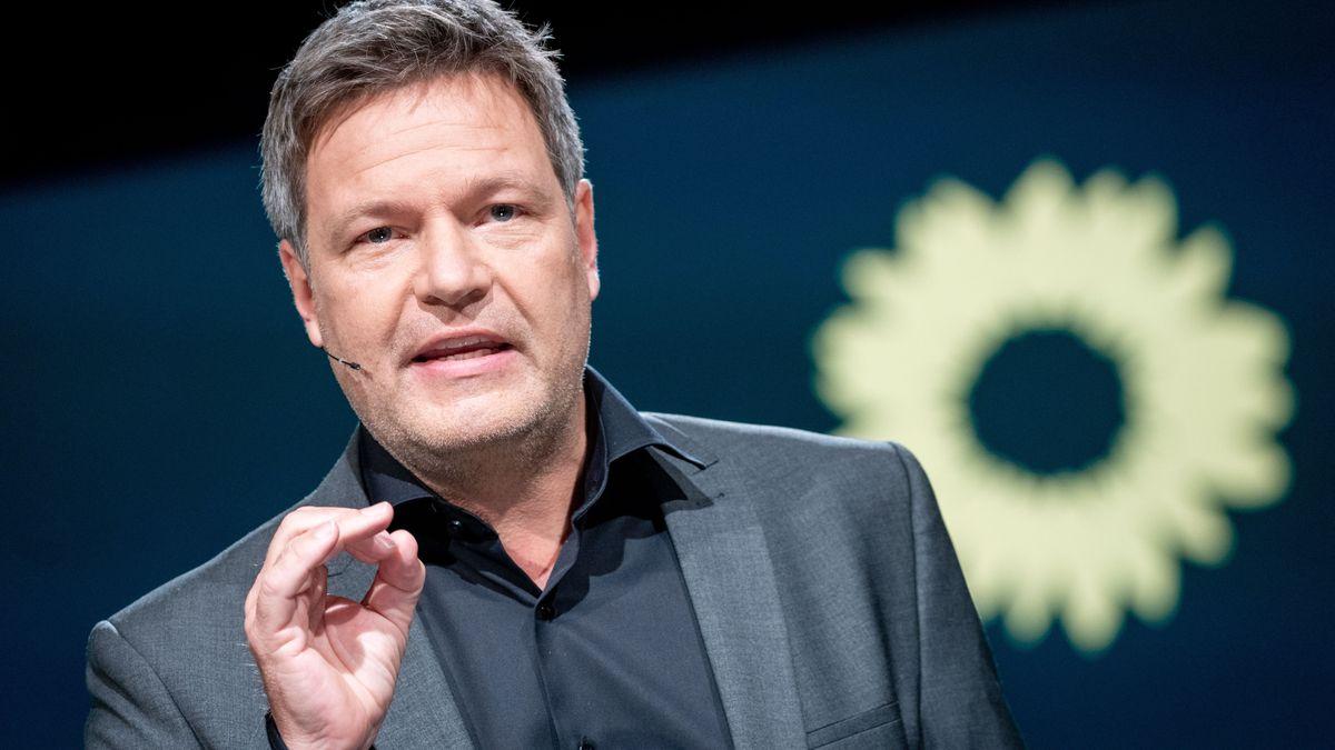 Grünen-Politiker Robert Habeck
