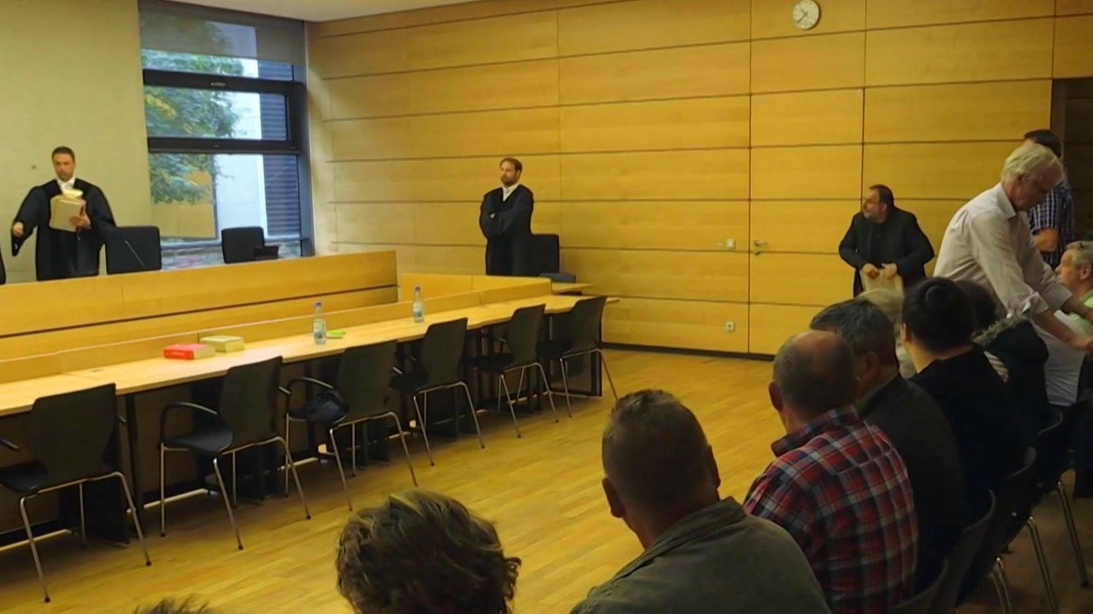 Der sogenannte Giemaul-Prozess am Amtsgericht Würzburg