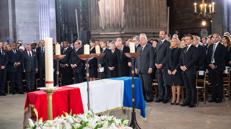 Trauerfeier für Jacques Chirac