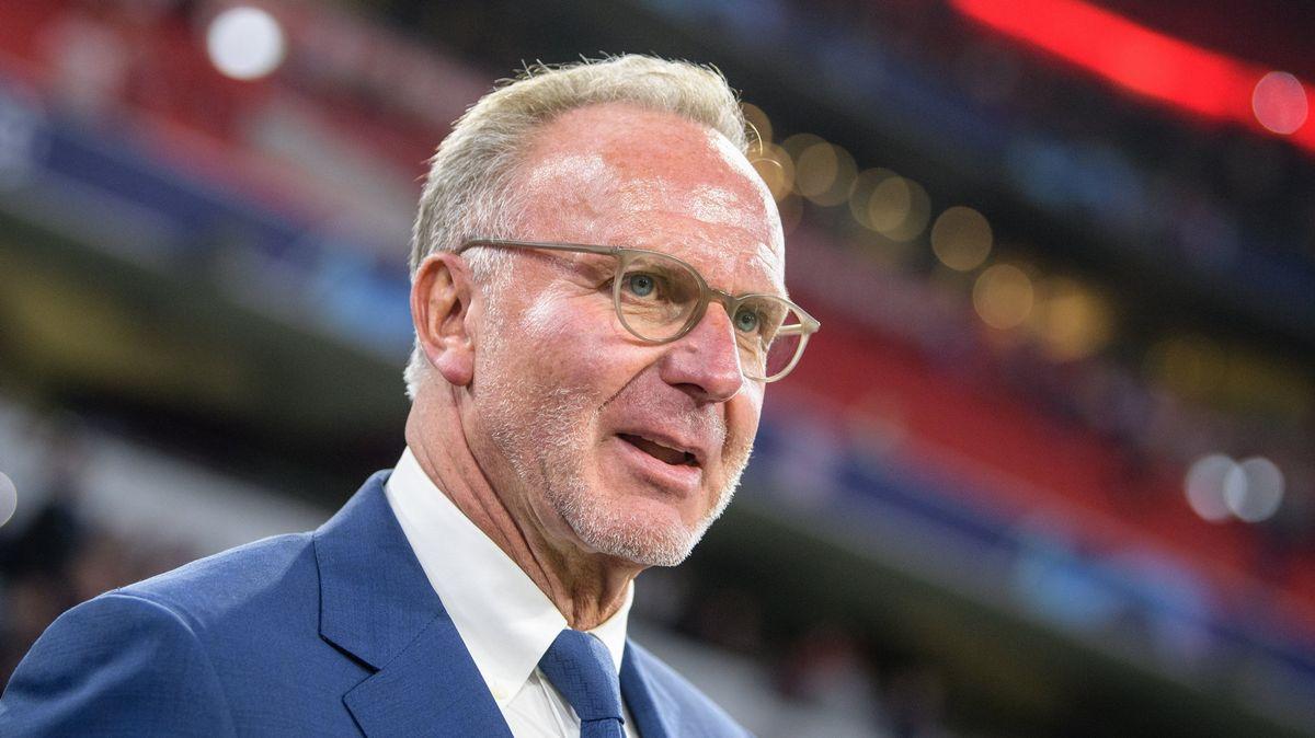 FC-Bayern-Vorstandschef Karl-Heinz Rummenigge
