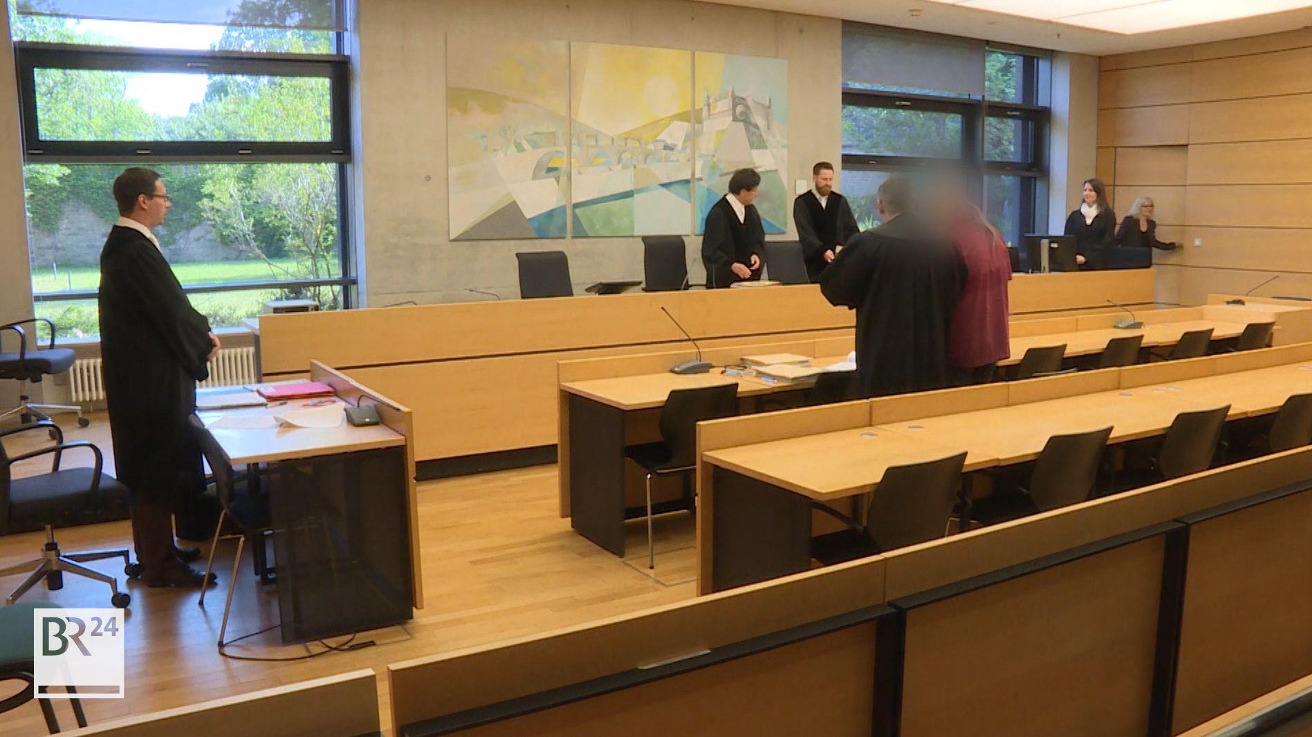 Prozess um den Raubüberfall auf eine Postfiliale in Höchberg