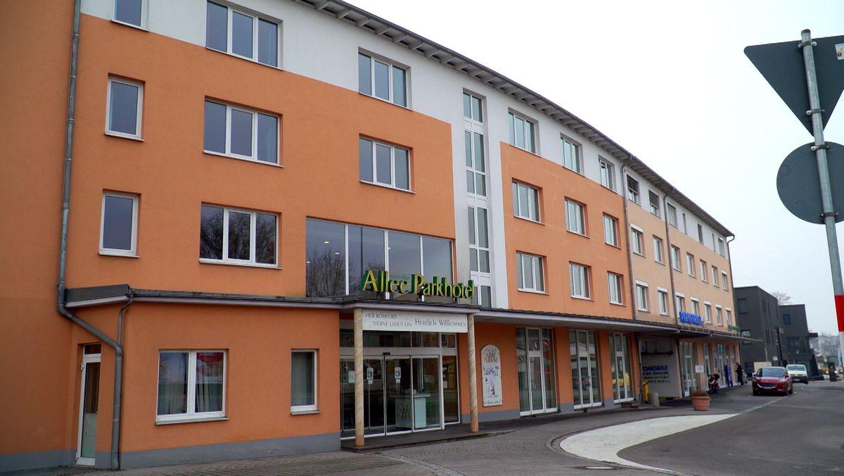 Das Allee Parkhotel Maximilian in Amberg von außen