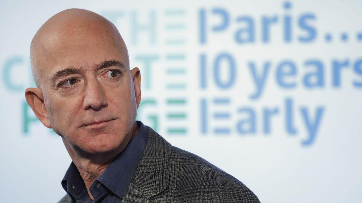 Amazon-Chef Jeff Bezos.