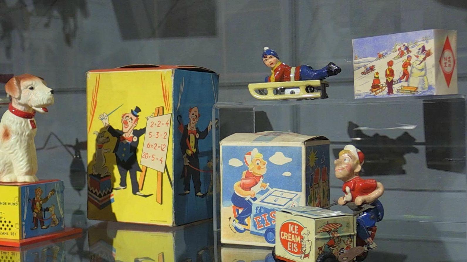 Diese Spielsachen wurden in Fürth hergestellt
