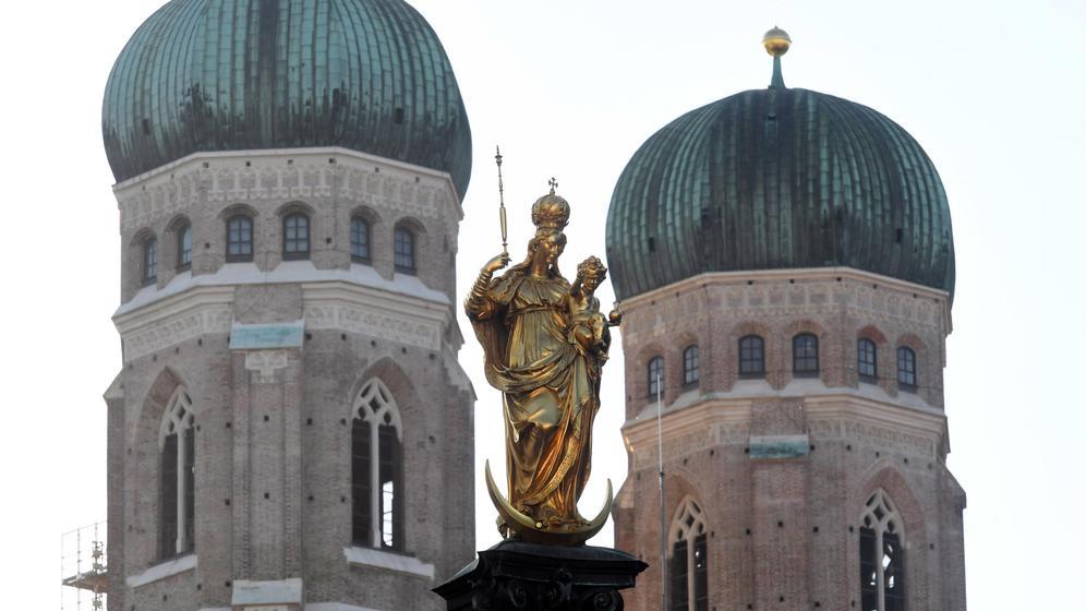 Mariensäule in München | Bild:dpa-Bildfunk/Hörhager
