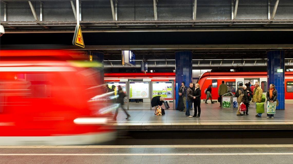 S-Bahn-Zug in München