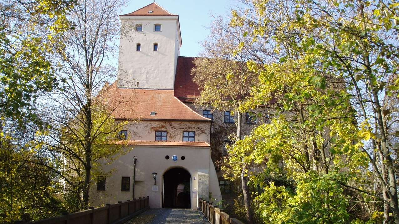 Das Wittelsbacher Schloss in Friedberg