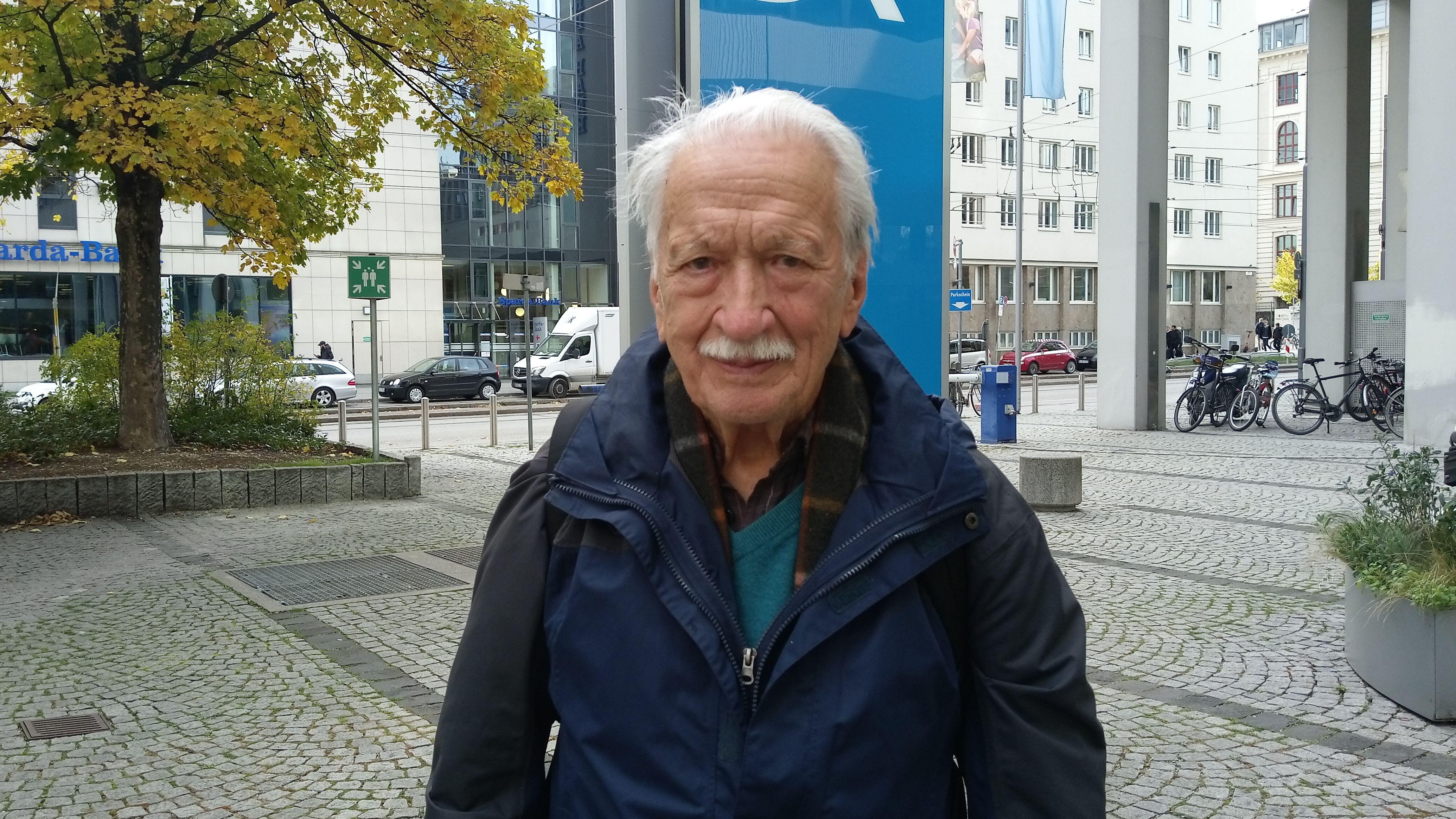 Der Holocaust-Überlebende Ernst Grube