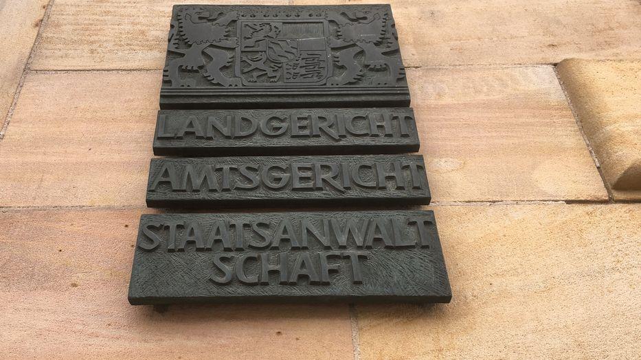 Schild Staatsanwaltschaft Regensburg