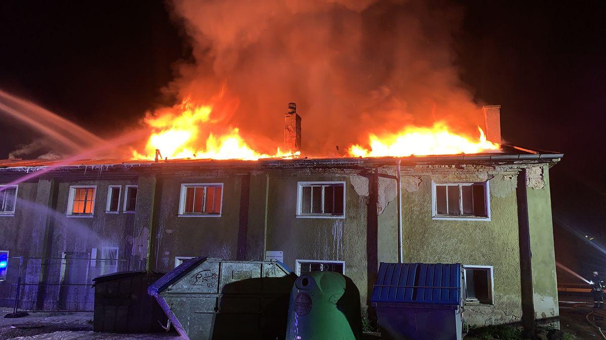 Brand auf dem Bahnhofsgelände in Weiden.