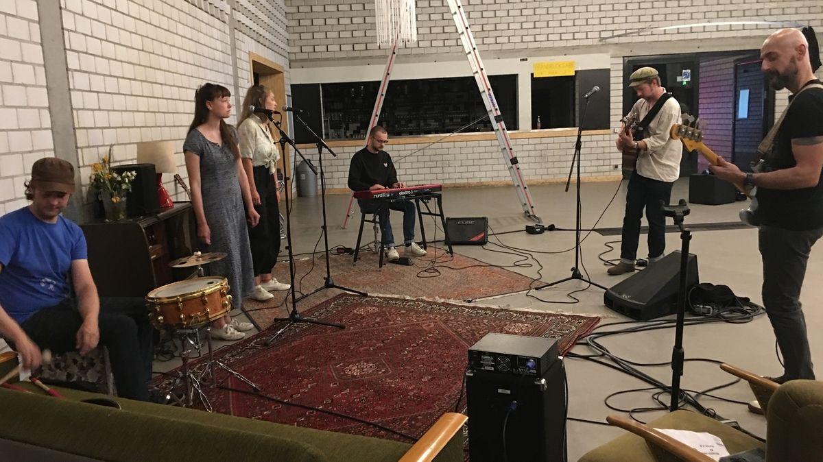 Bandprobe der Band Rogue für das Streaming-Konzert Ingolstadt