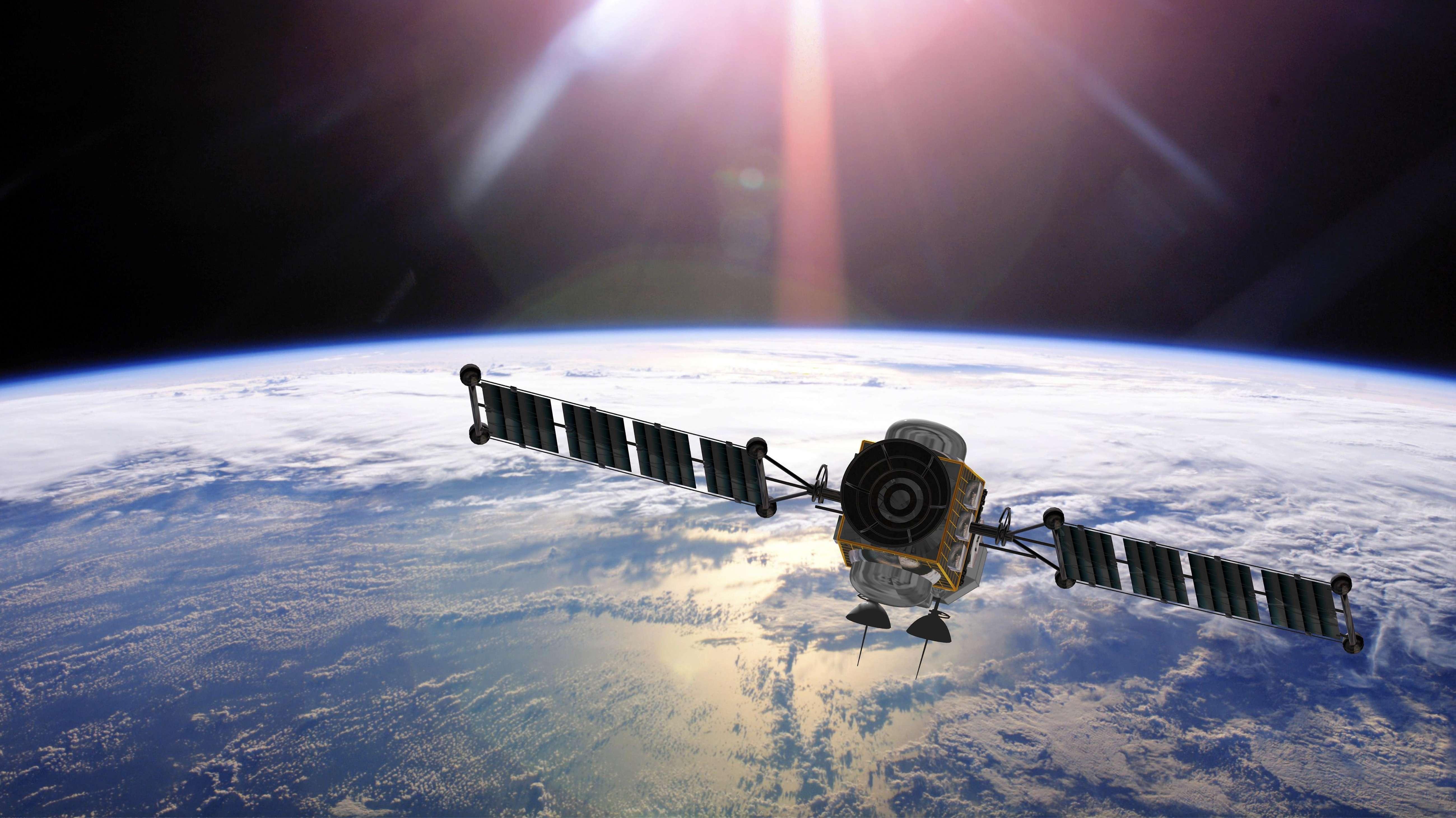Symbolbild: Satellit