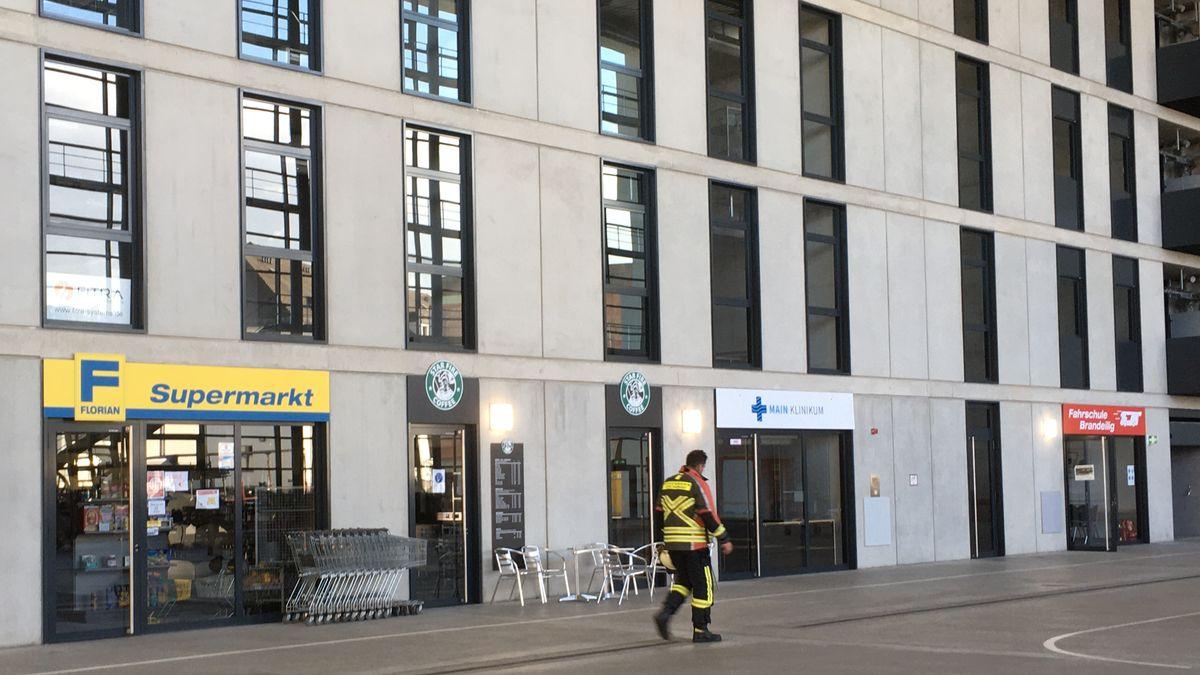 Straßenzug in der Übungshalle der Staatlichen Feuerwehrschule Würzburg
