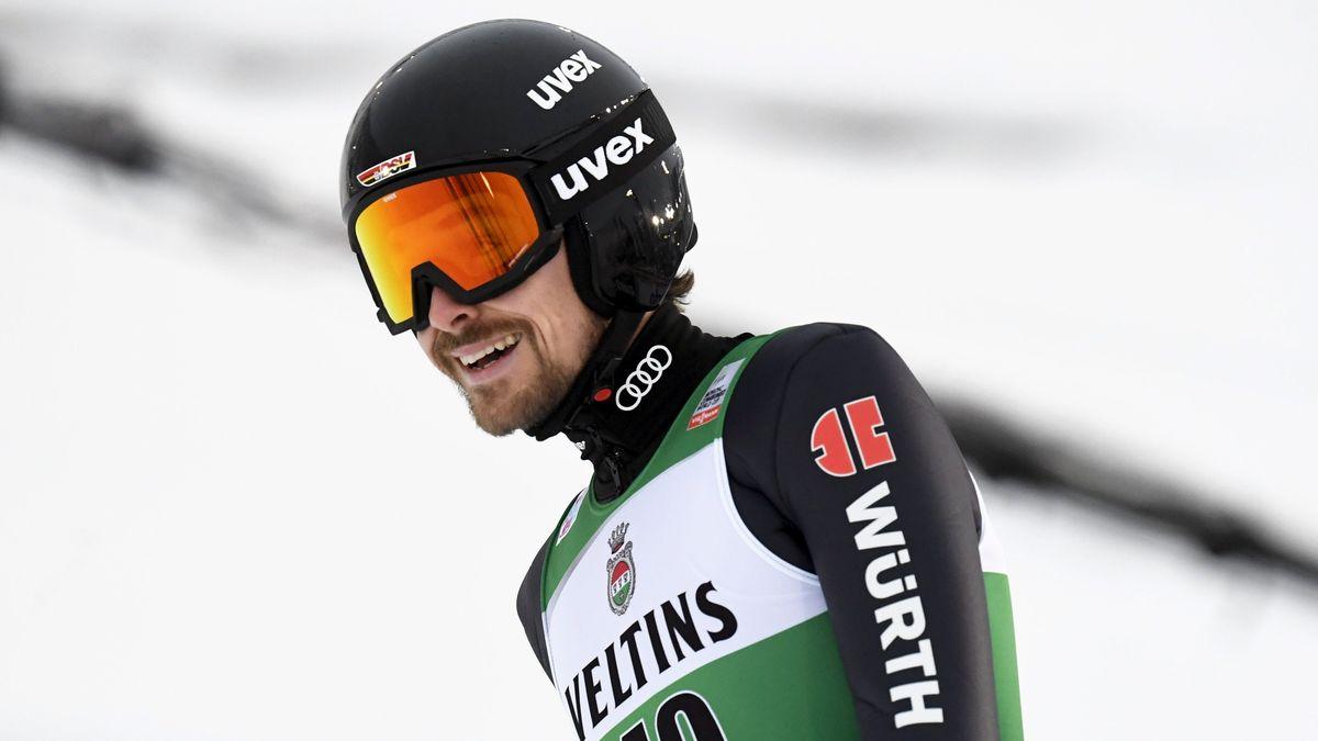 Fabian Rießle beim Weltcup im finnischen Kuusamo auf Platz zwei