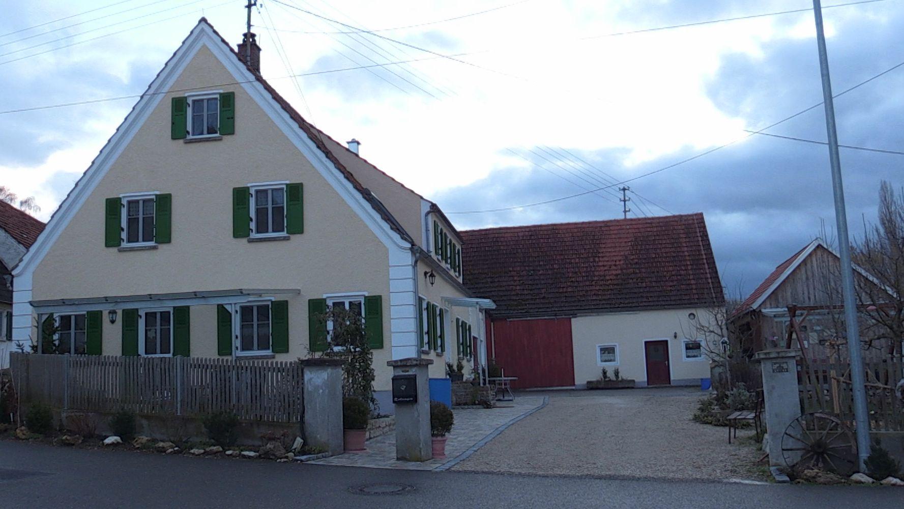 Alter Bauernhof in Nordschwaben