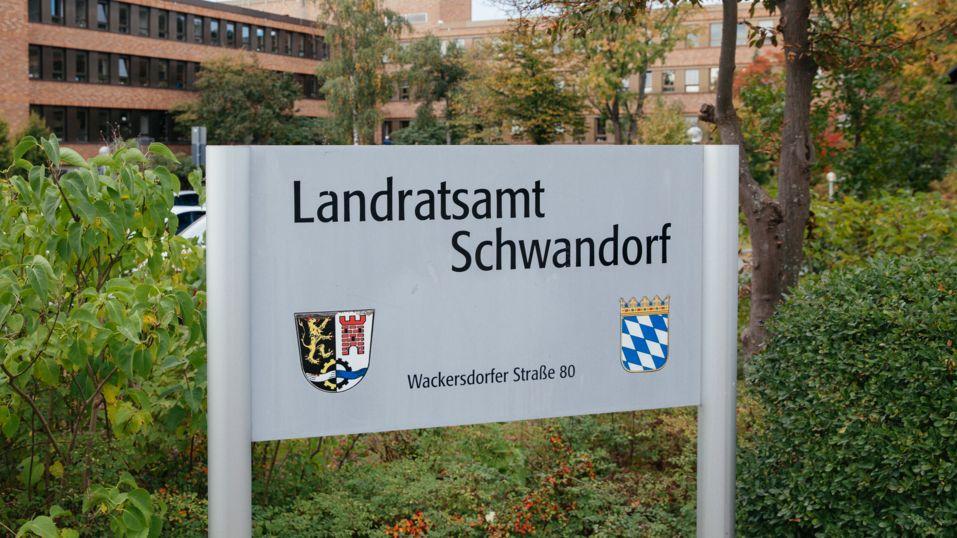 Das Landratsamt Schwandorf