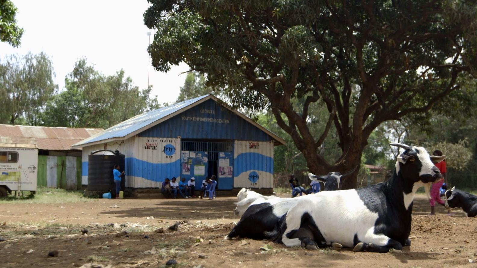 Jugendzentrum bei Nairobi