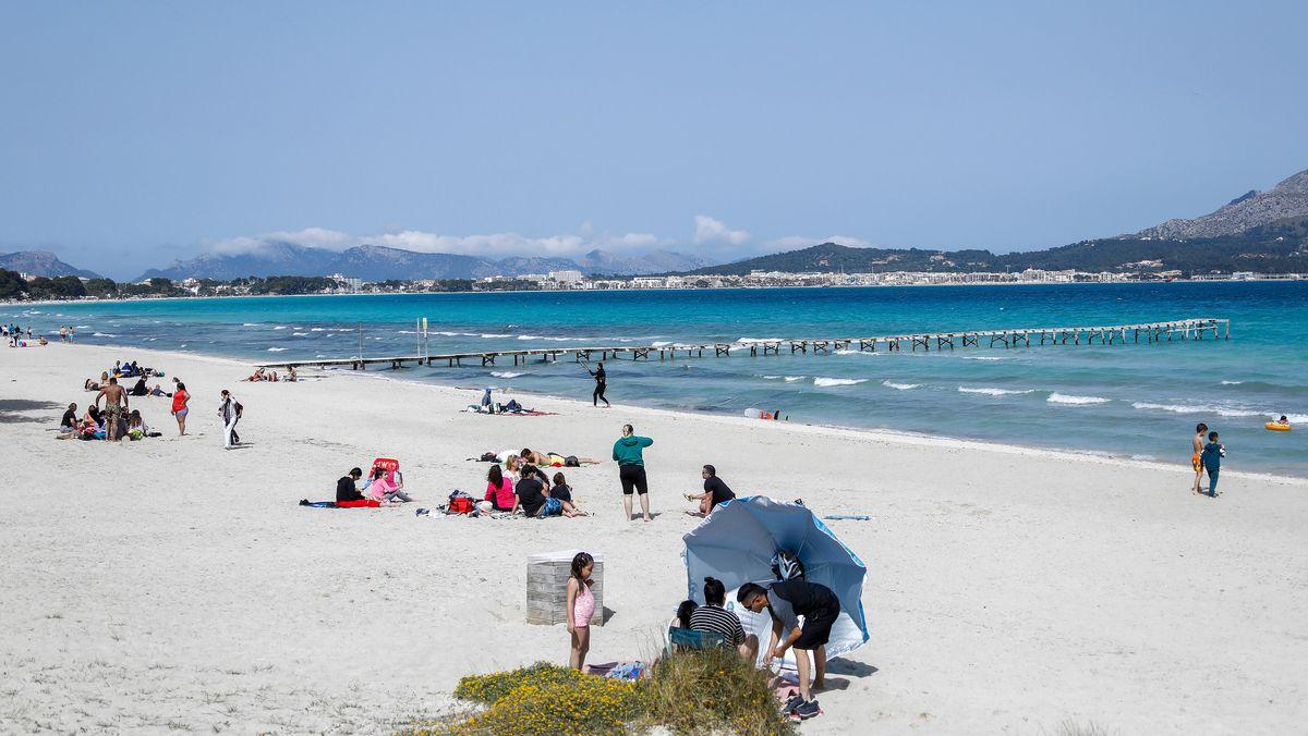 Strand von Muro auf Mallorca