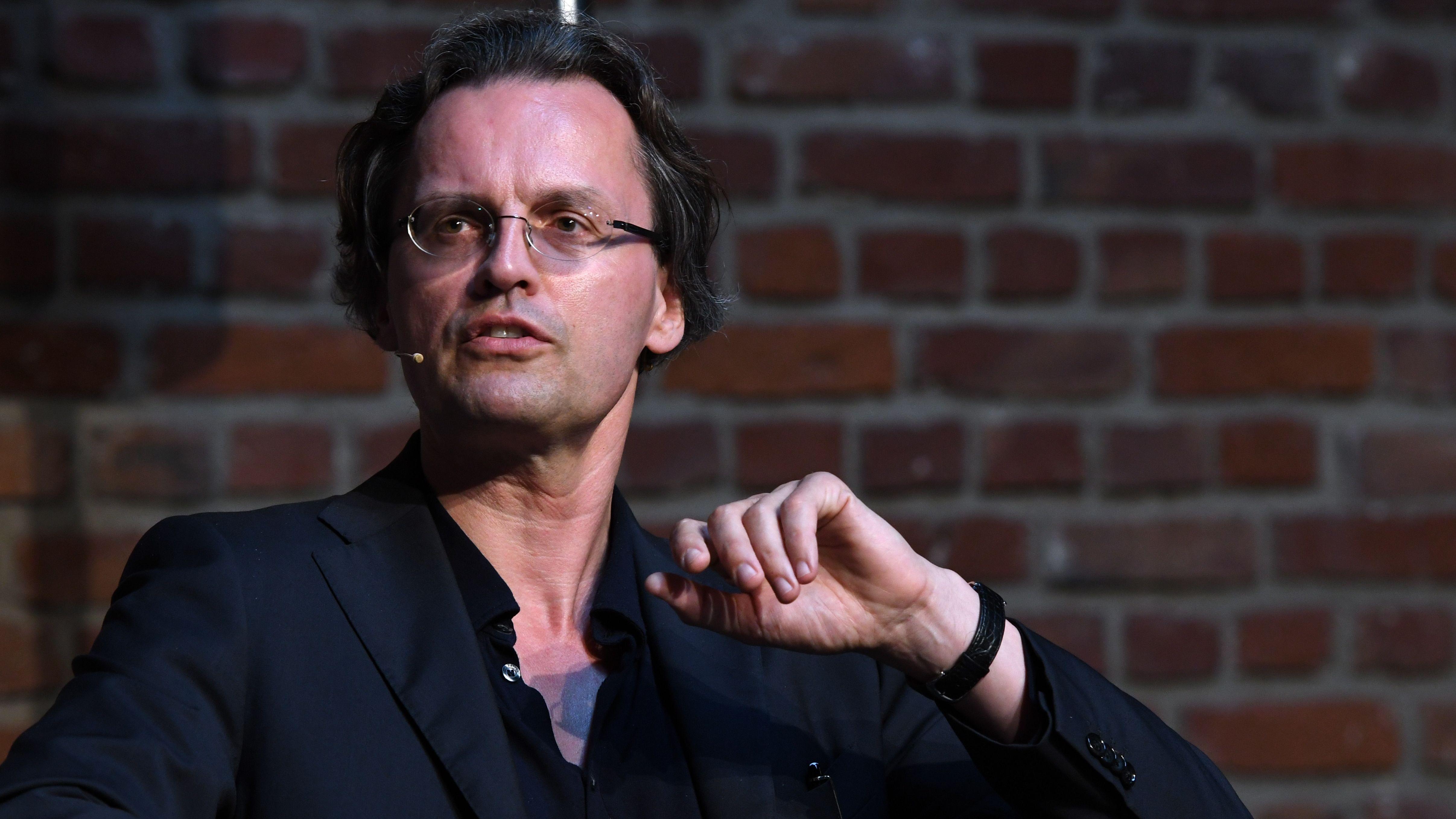 Der Medienwissenschaftler und Autor Bernhard Pörksen liest und diskutiert am 09.06.2018 in Köln auf der 6. phil.cologne, dem grössten deutschen Philosophie Festival. (Archivbild)
