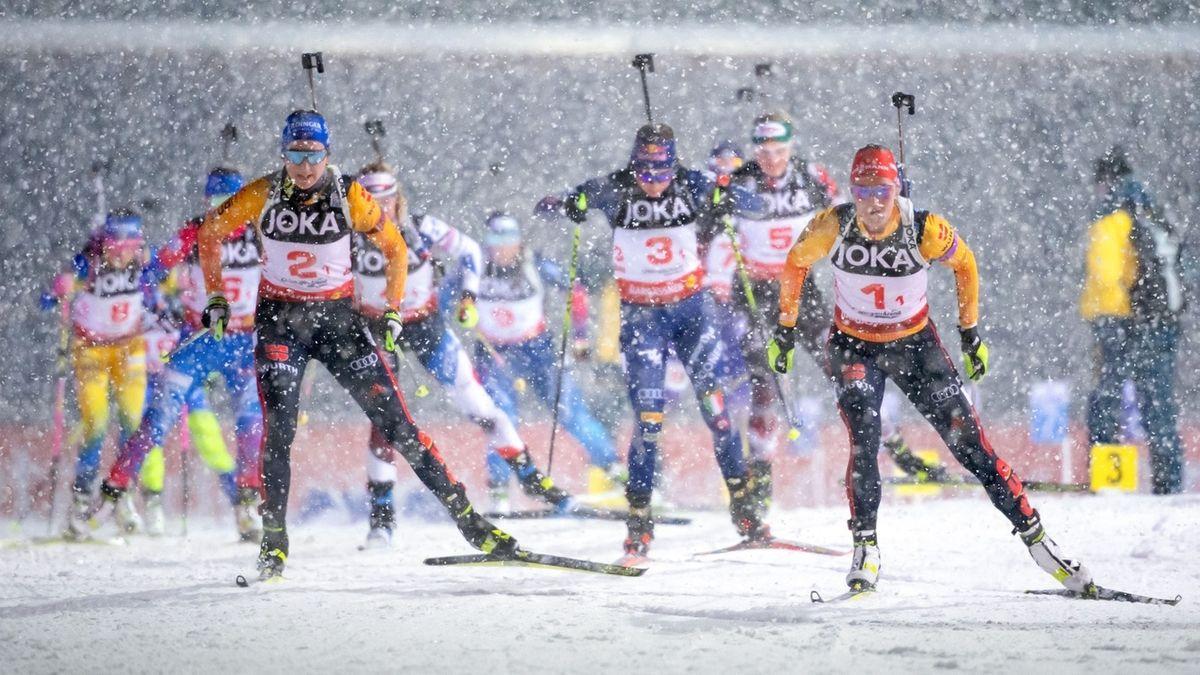 Biathlon-Challenge in Ruhpolding