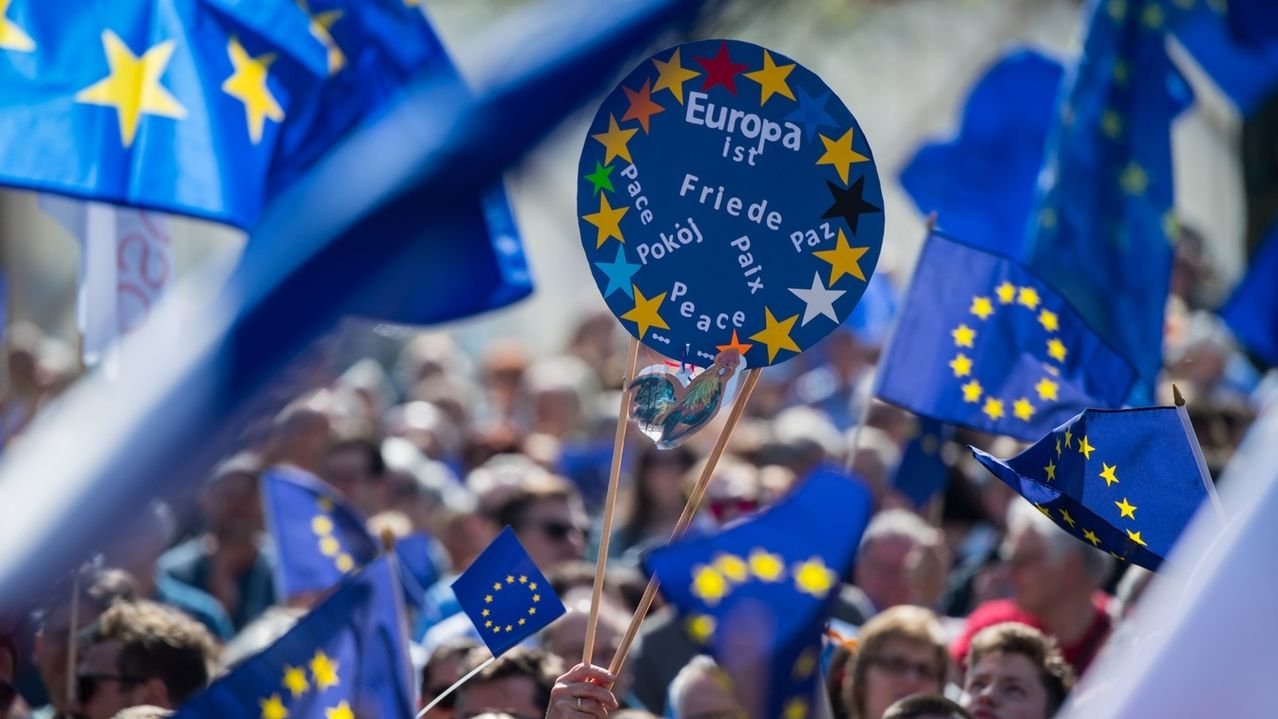 "Kundgebung ""Pulse of Europe"""