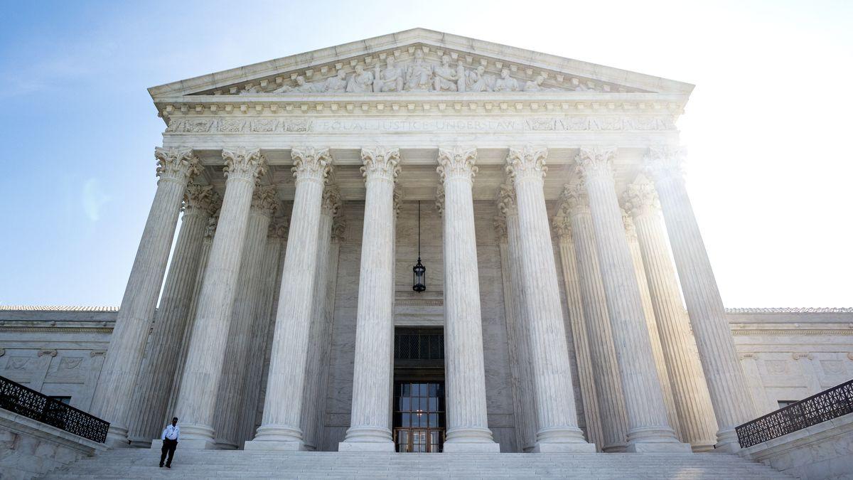 Supreme Court in Washington, USA.